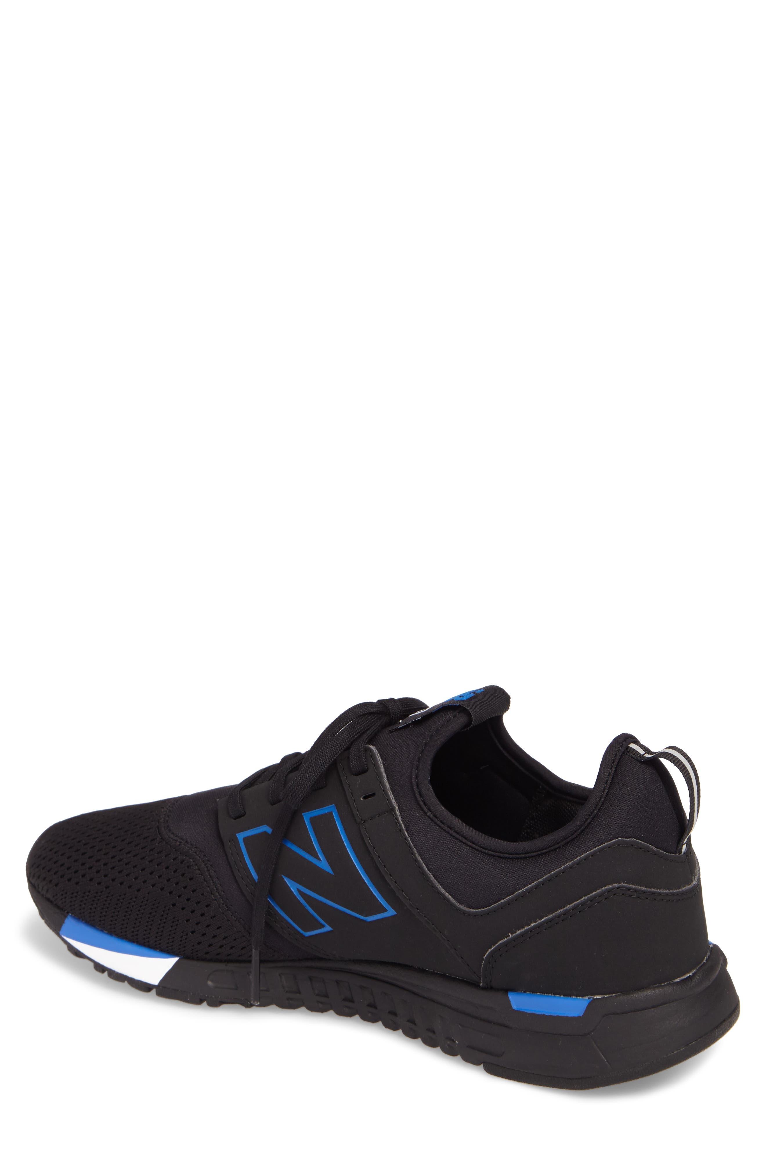 247 Sneaker,                             Alternate thumbnail 2, color,                             Black