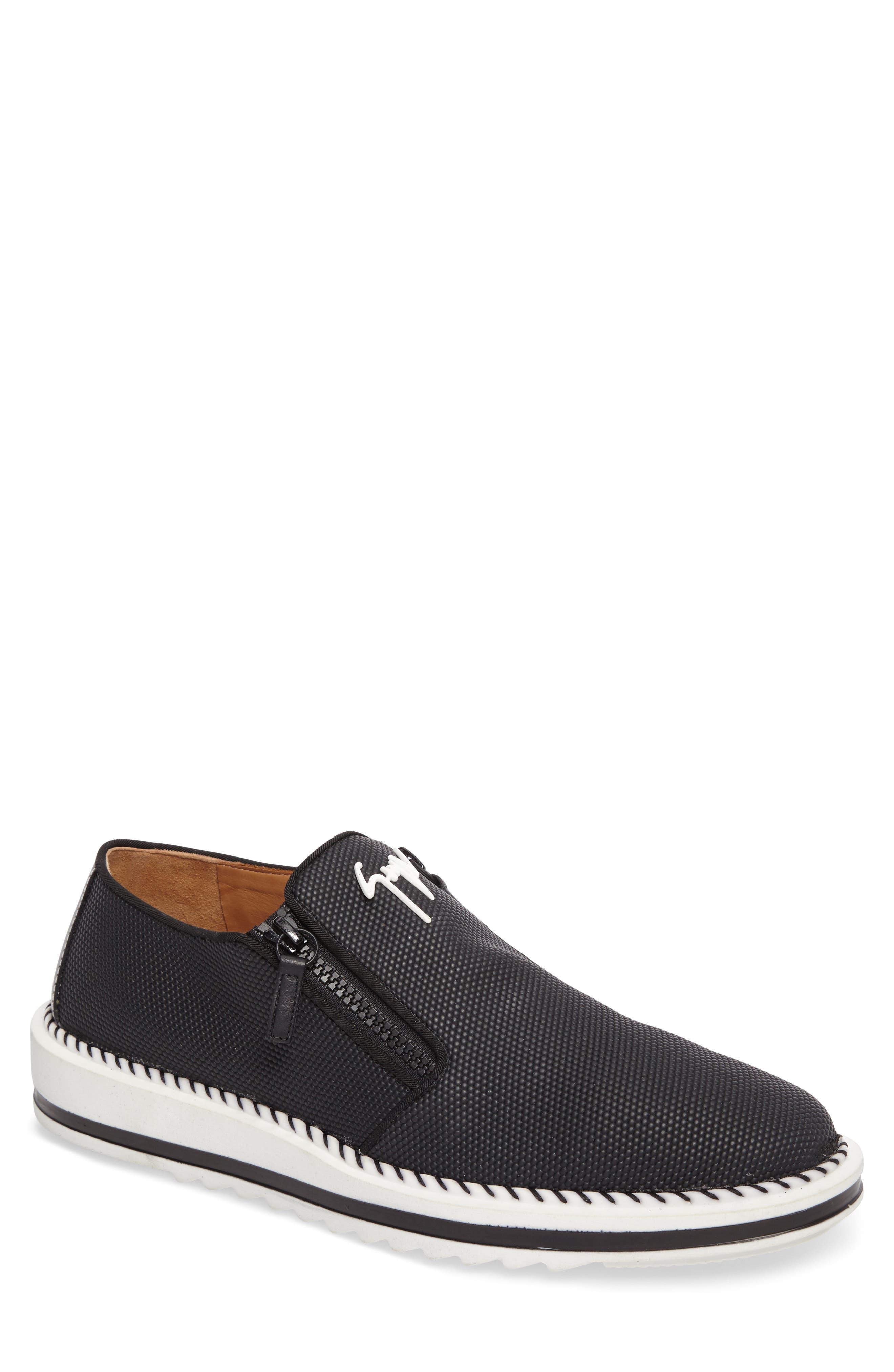 Slip-On,                         Main,                         color, Black/ White