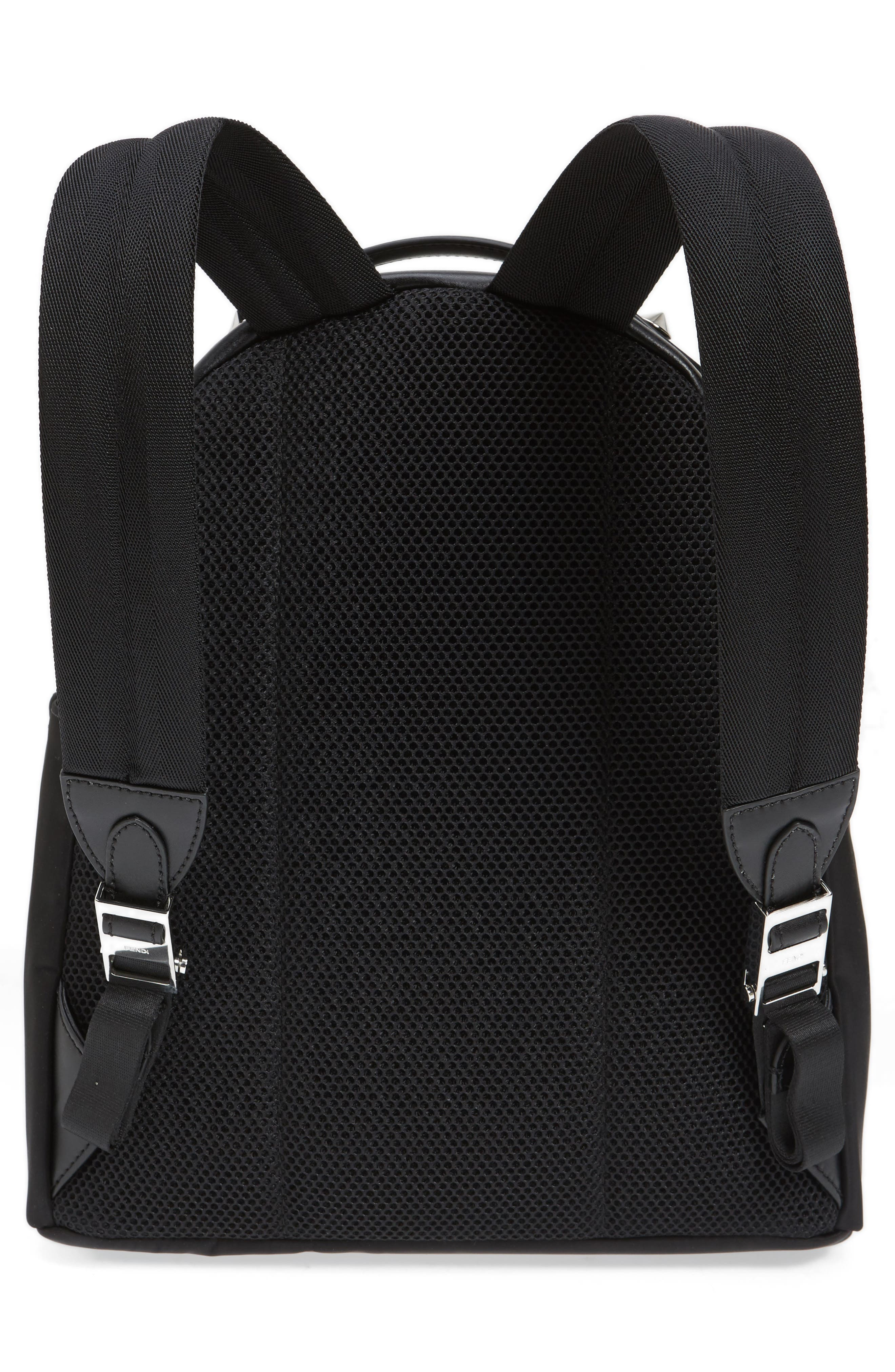 Alternate Image 3  - Fendi Fun Fair Logo Nylon Backpack