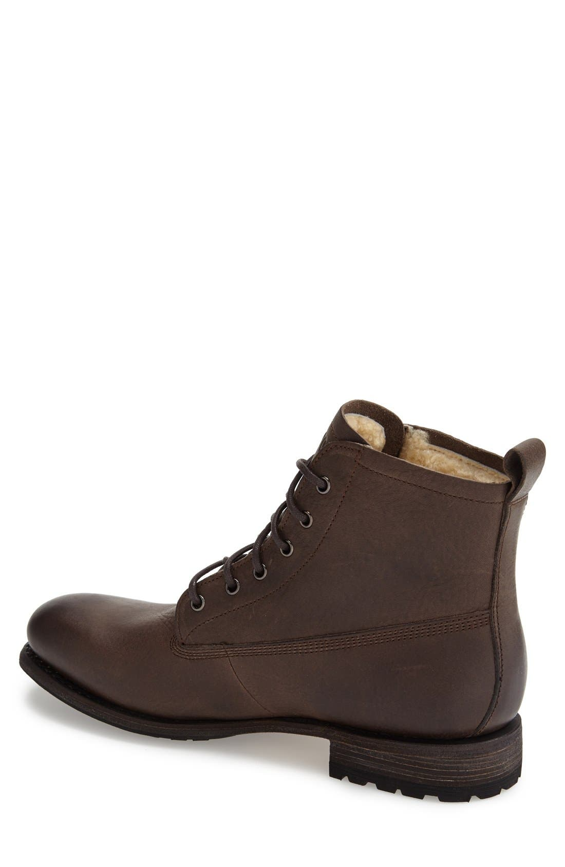 Alternate Image 2  - Blackstone 'Gull' Plain Toe Boot (Men)