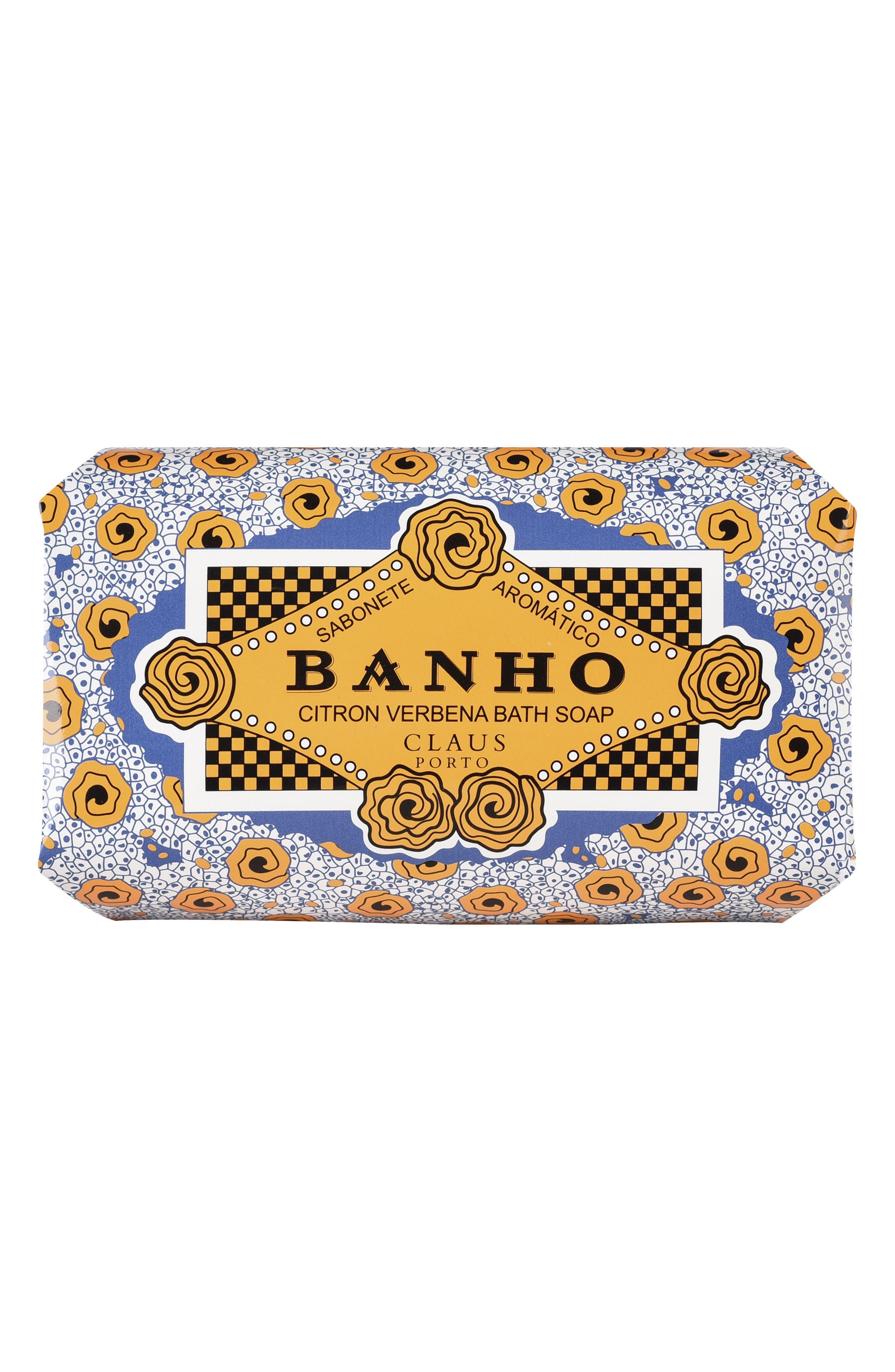 Banho Citron Verbena Large Bath Soap,                             Alternate thumbnail 2, color,                             No Color