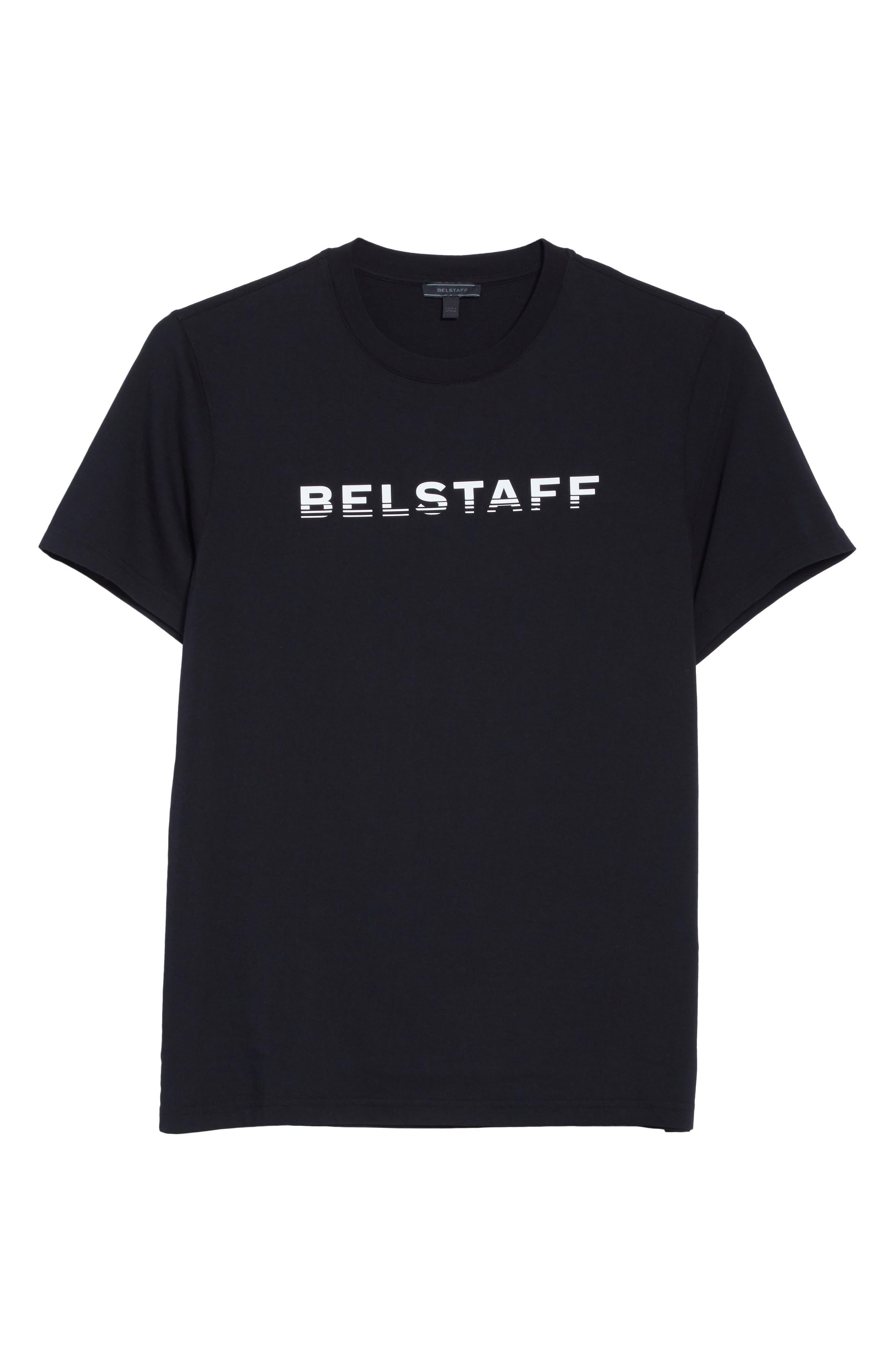 Logo Graphic T-Shirt,                             Alternate thumbnail 6, color,                             Black