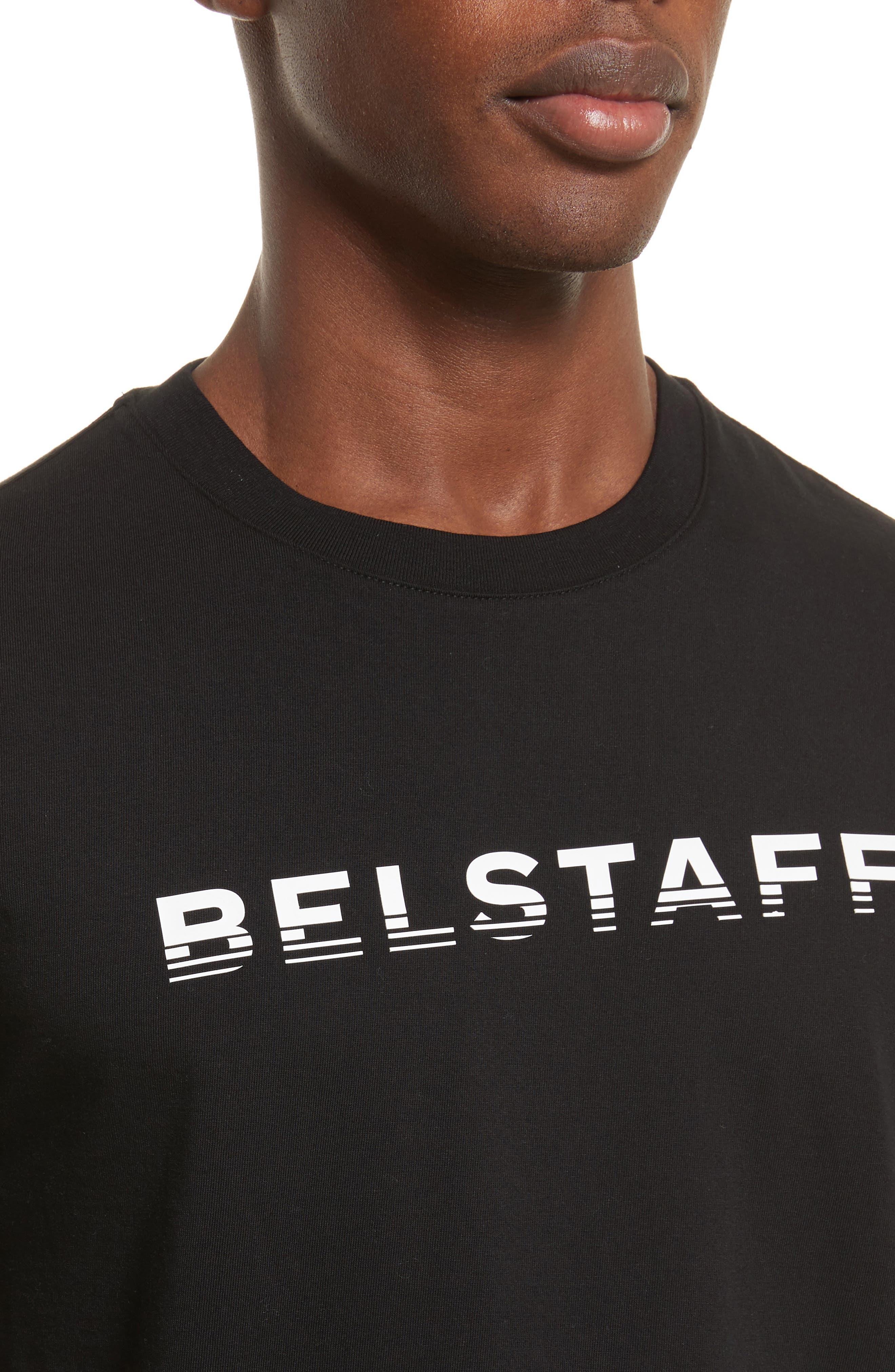 Logo Graphic T-Shirt,                             Alternate thumbnail 4, color,                             Black