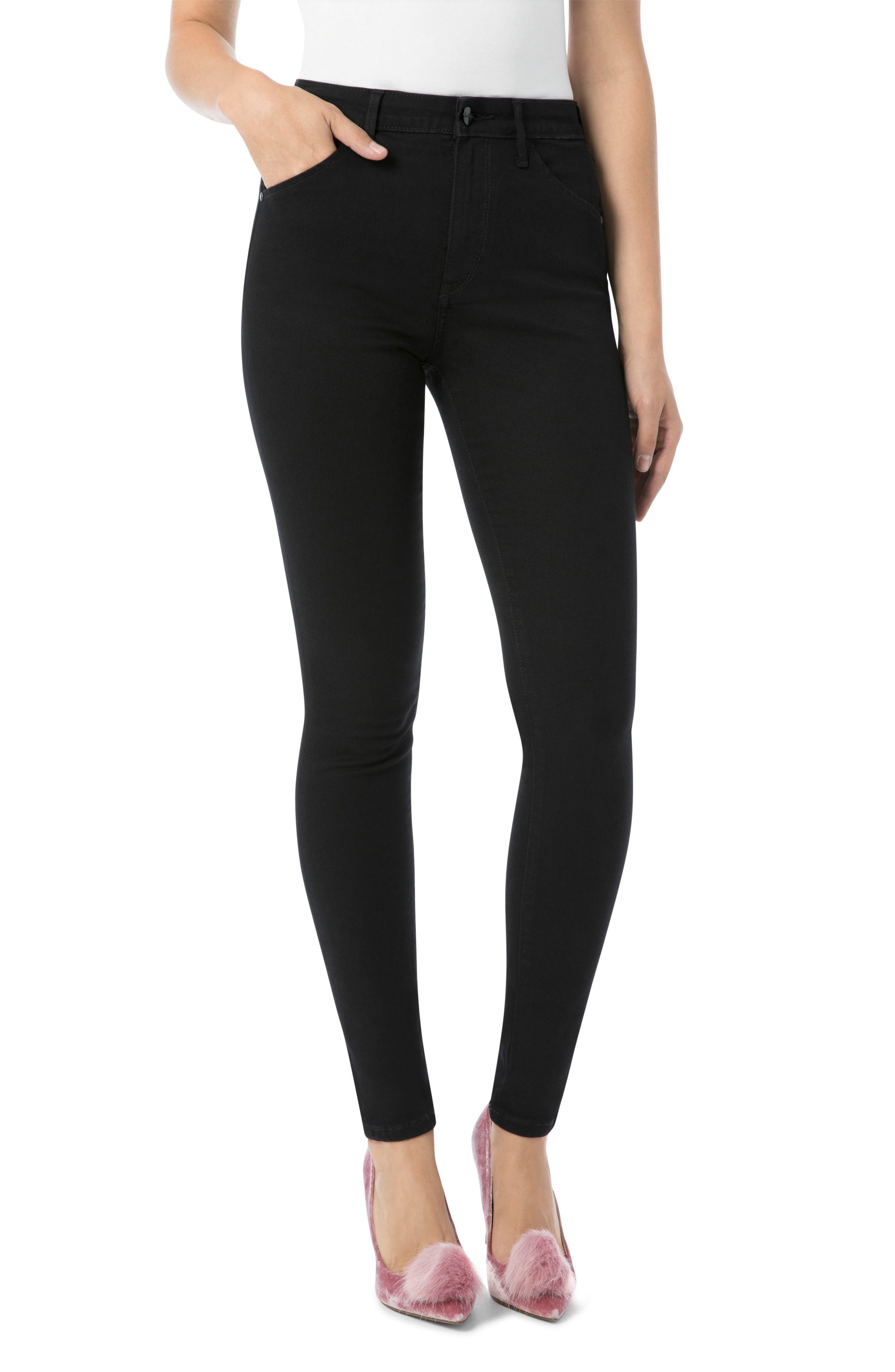Stiletto High Rise Skinny Jeans,                         Main,                         color, Ambrose