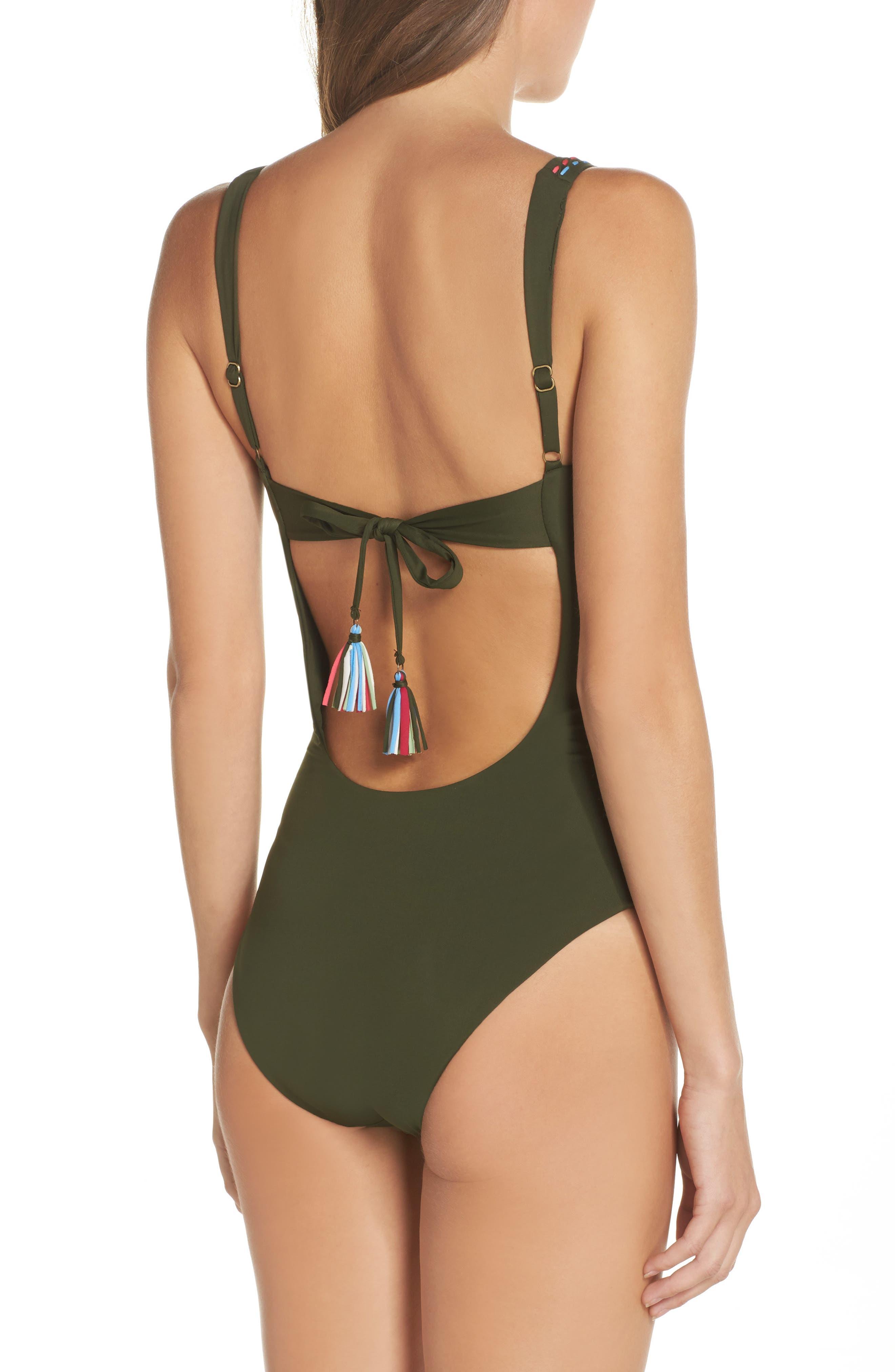 Alternate Image 2  - Becca Quest One-Piece Swimsuit