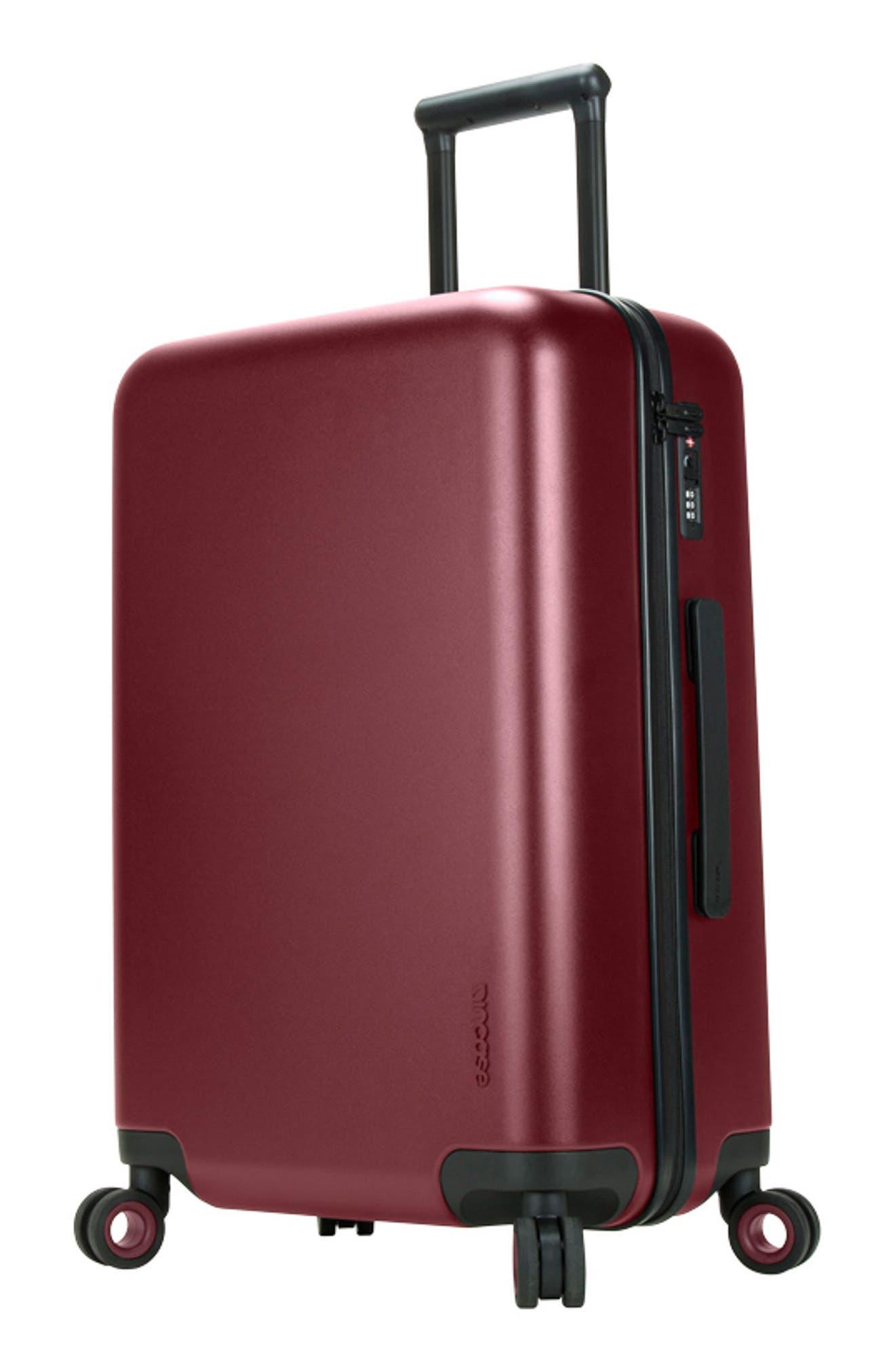 NOVI 31-Inch Hardshell Wheeled Packing Case,                             Alternate thumbnail 7, color,                             Deep Red
