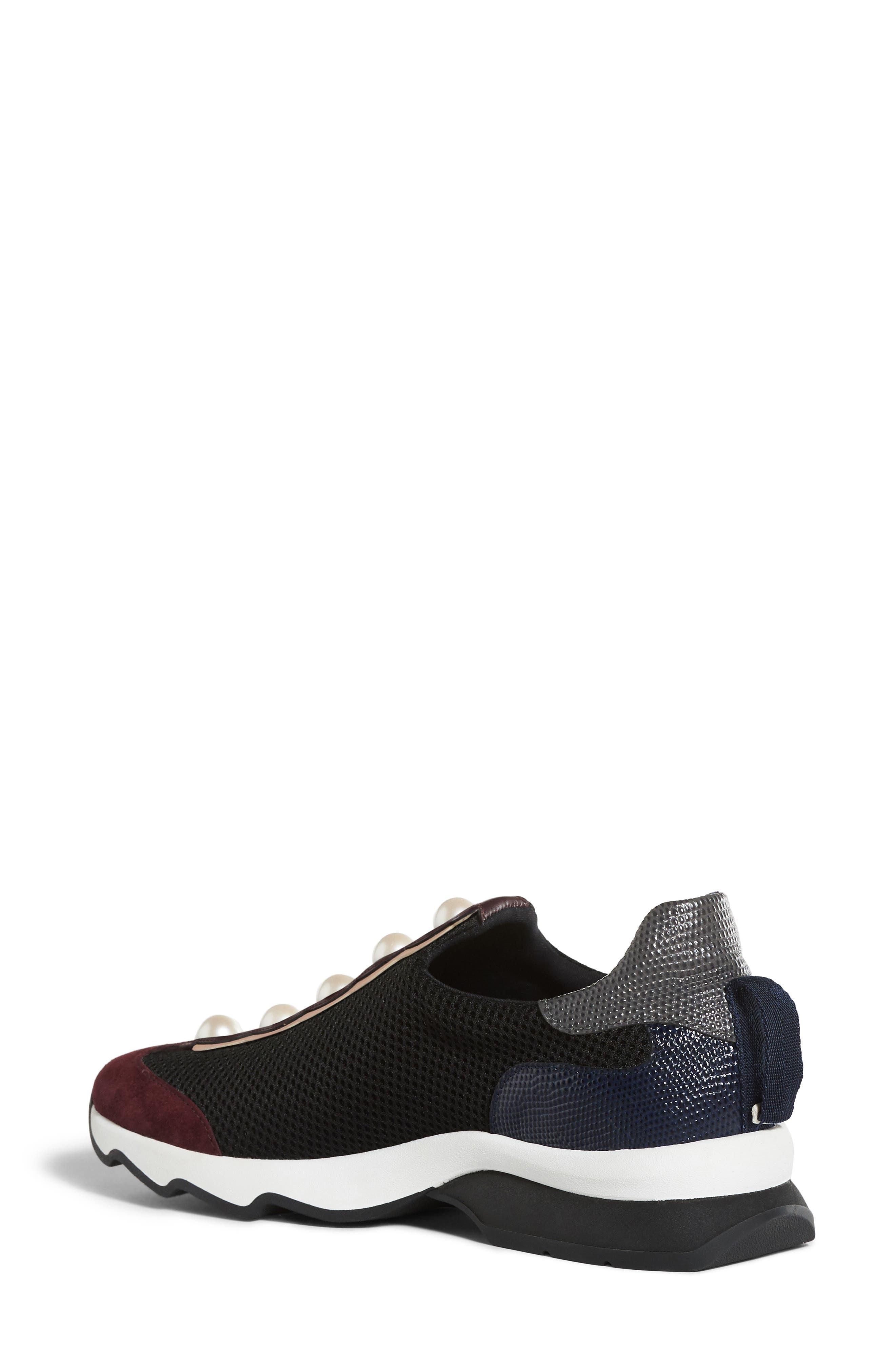 Alternate Image 2  - Fendi Pearland Slip-On Sneaker (Women)