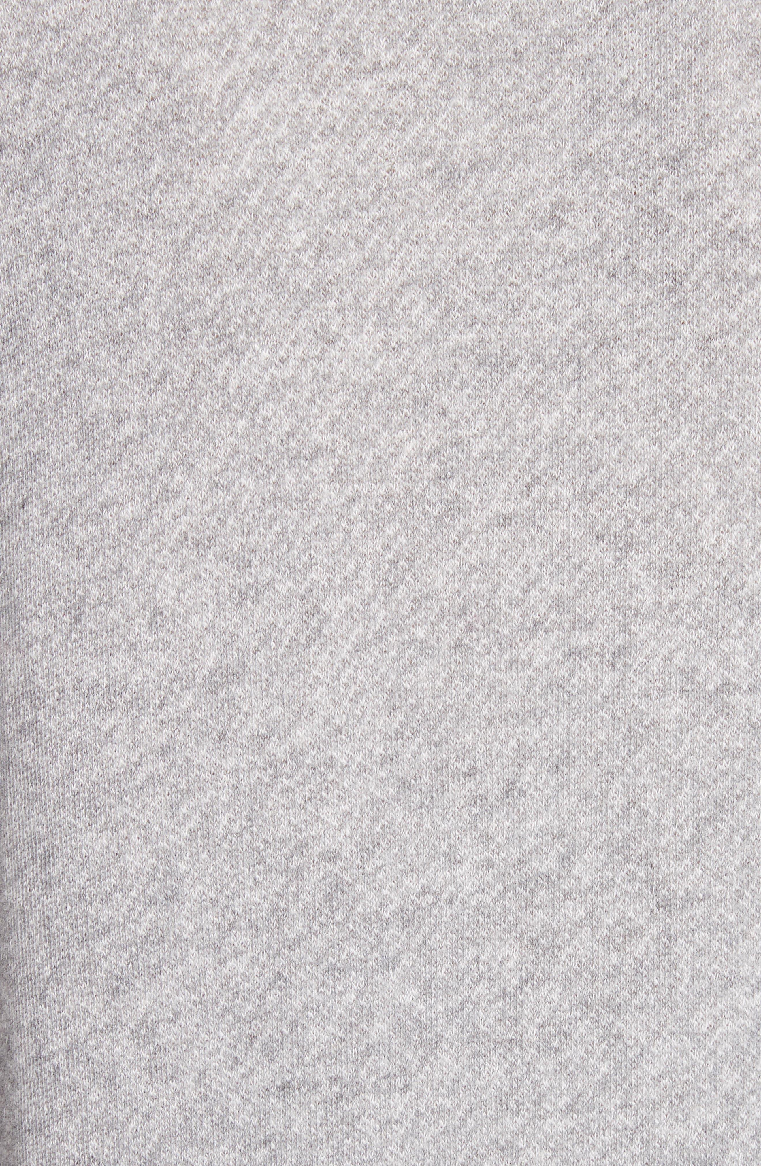 Richardine B Sweatshirt,                             Alternate thumbnail 5, color,                             Heather Grey
