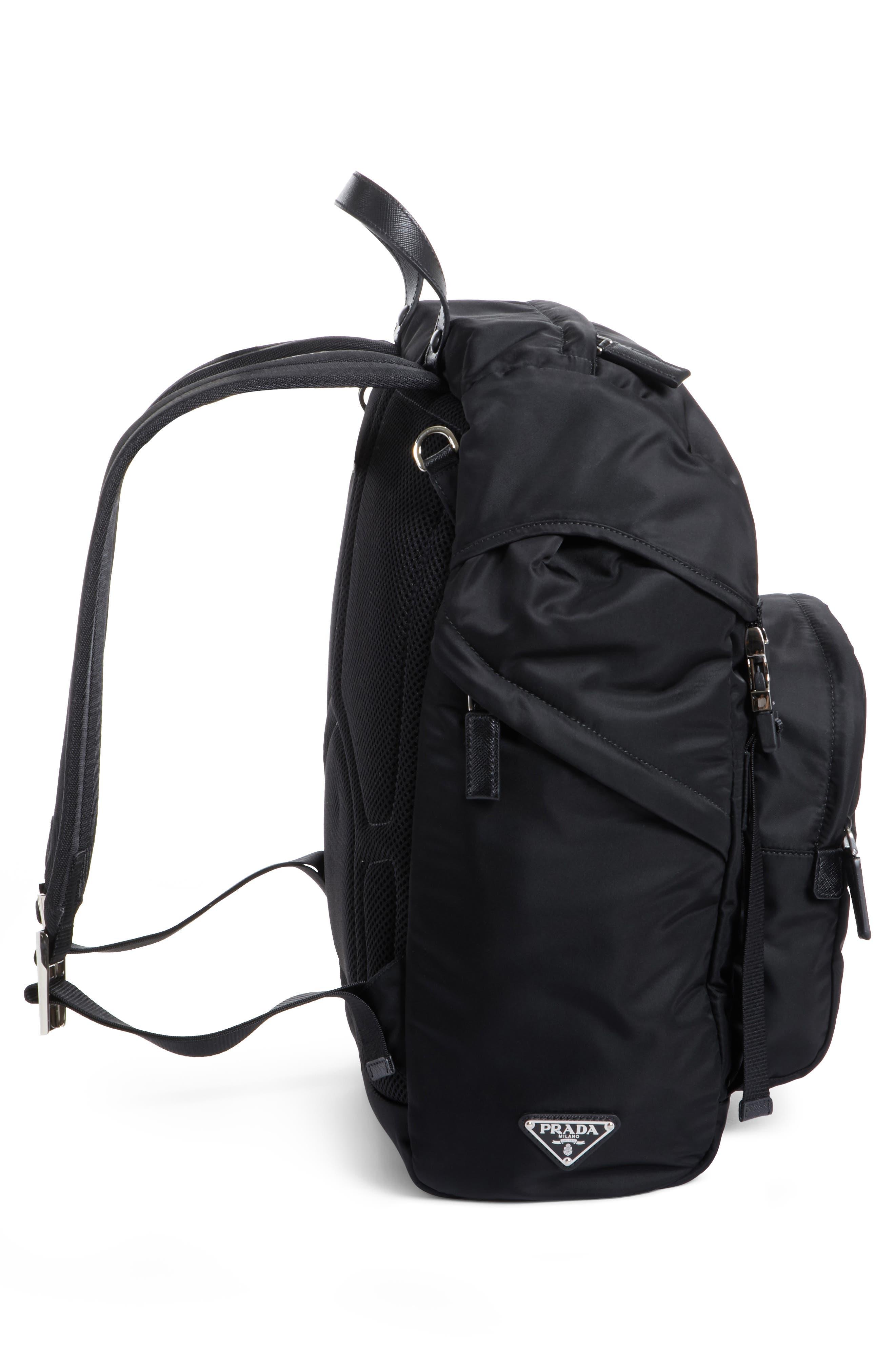 Montagna Backpack,                             Alternate thumbnail 5, color,                             Nero