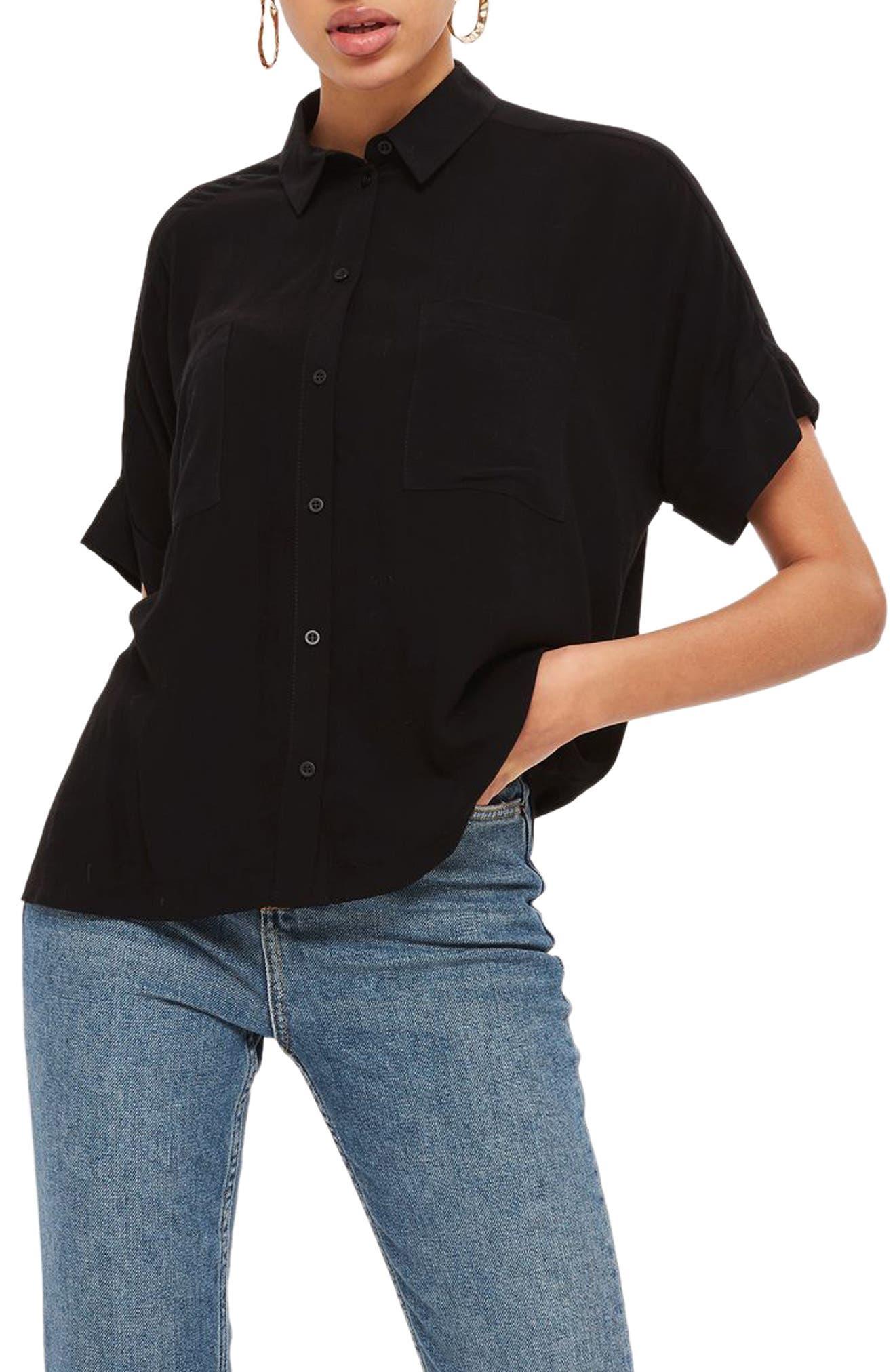 Joey Shirt,                             Main thumbnail 1, color,                             Black