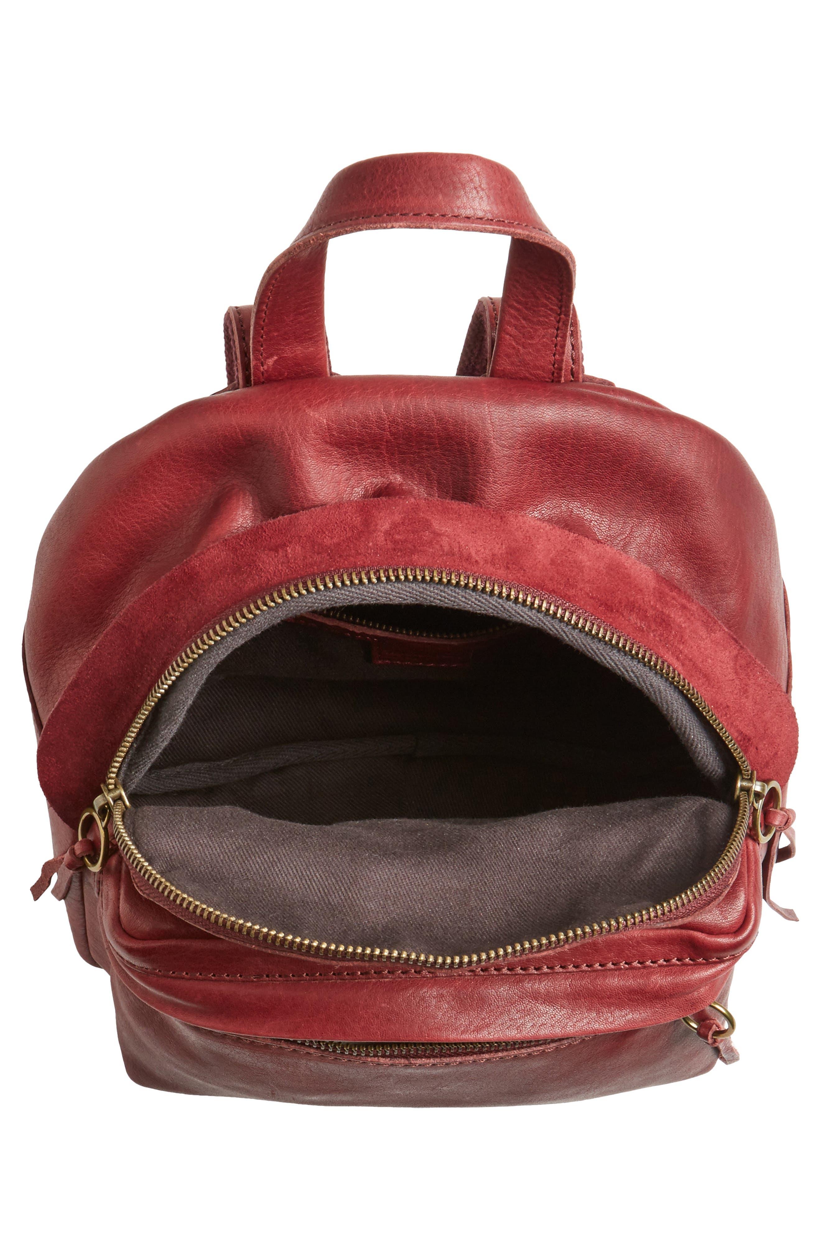 Alternate Image 4  - Madewell Mini Lorimer Leather Backpack