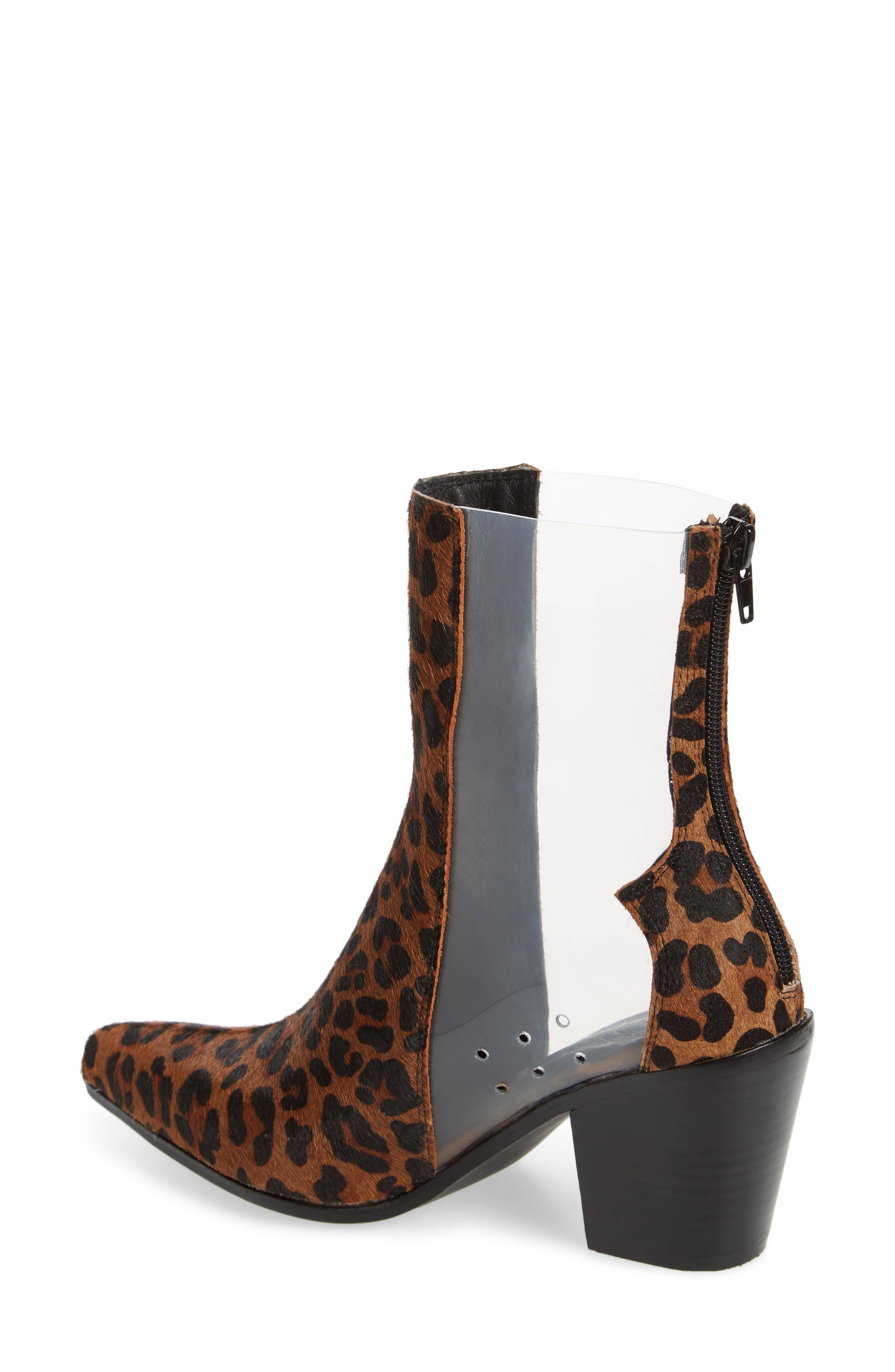Alternate Image 2  - Jeffrey Campbell Aliases Genuine Calf Hair Boot (Women)