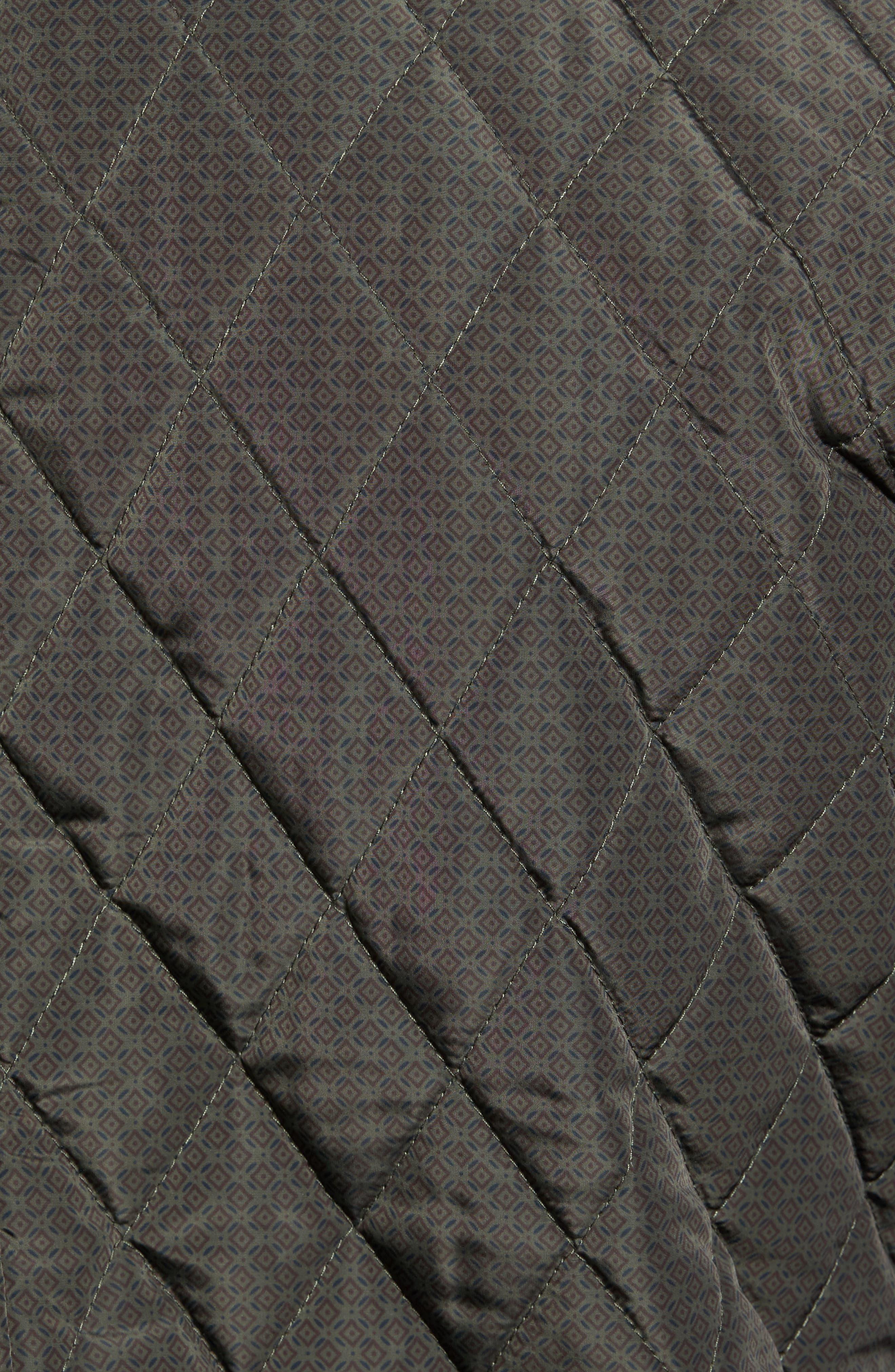 Alternate Image 5  - Scotch & Soda Lightweight Quilted Shirt Jacket