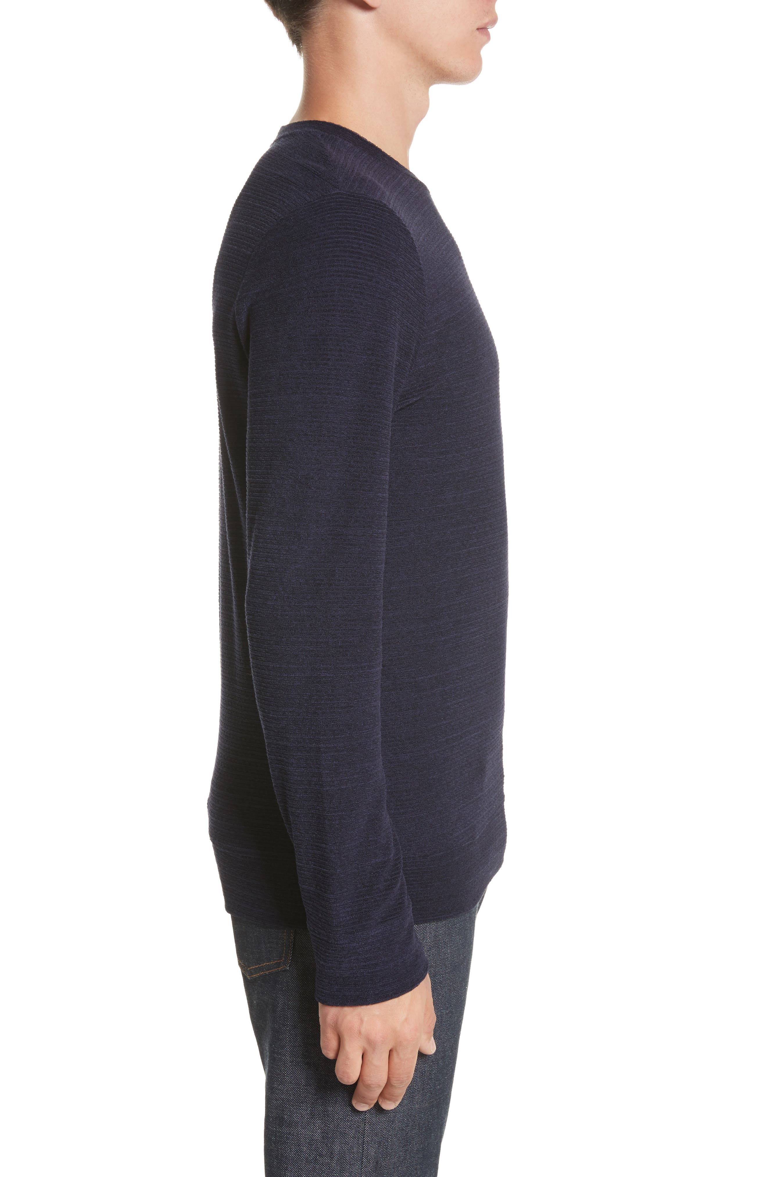 Alternate Image 3  - A.P.C. Jeremie Crewneck Sweater
