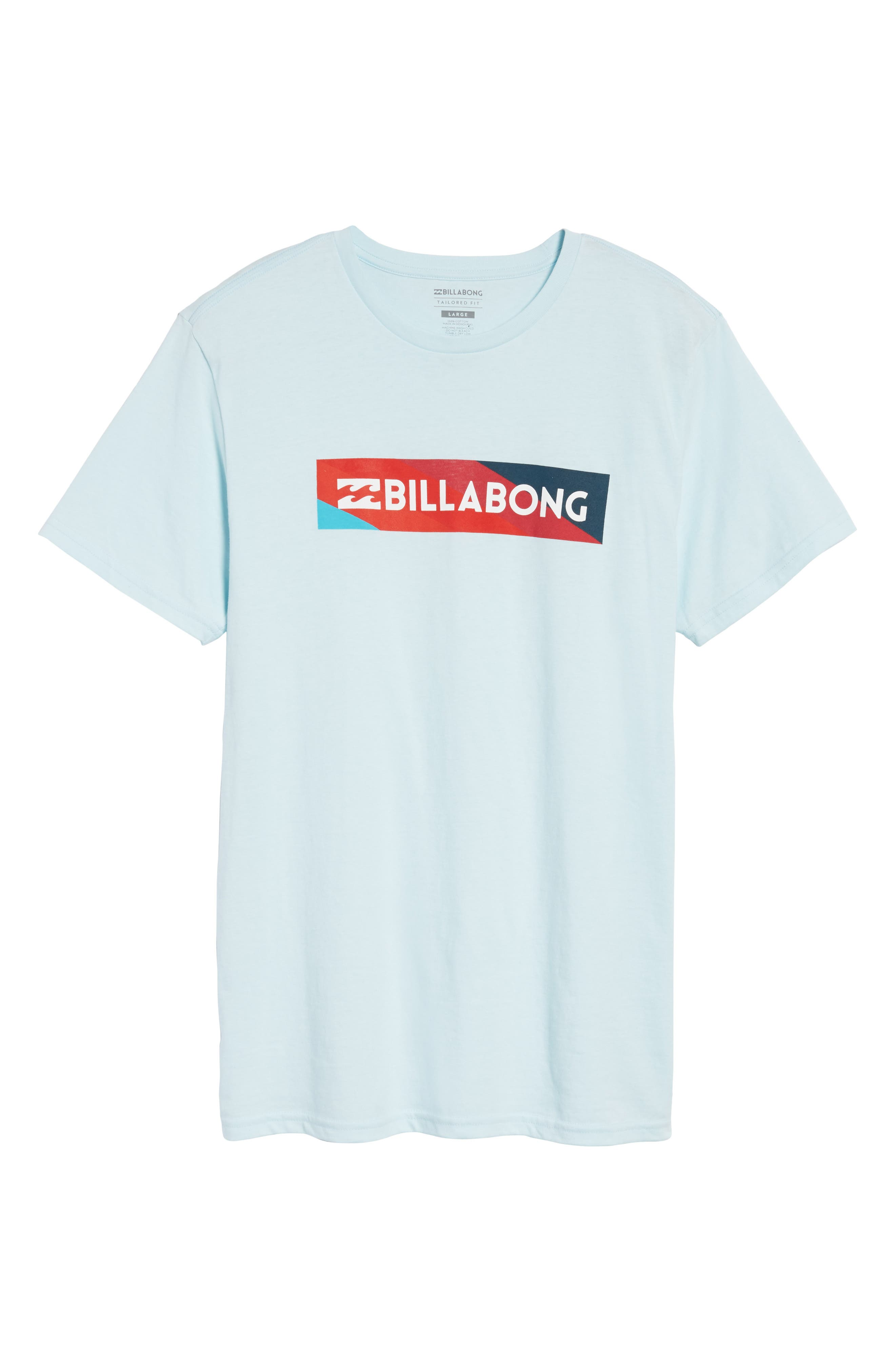Unity Block Graphic T-Shirt,                         Main,                         color, Coastal Blue