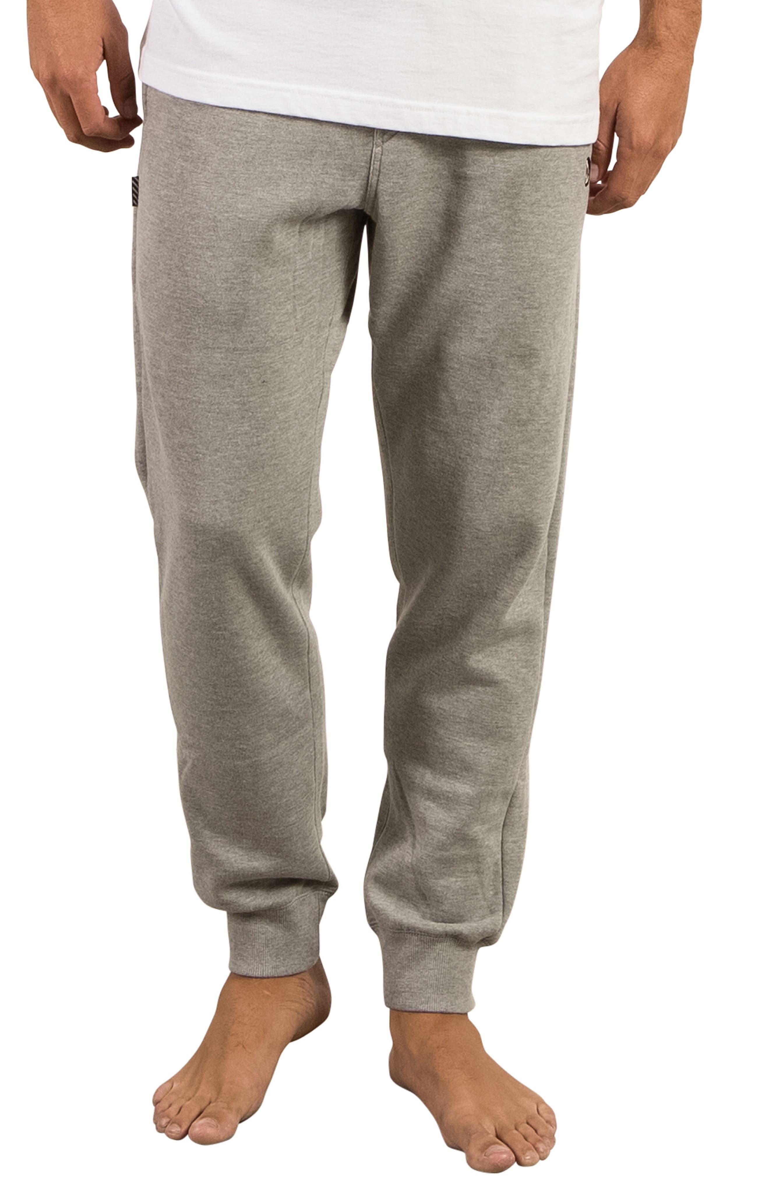 Alternate Image 1 Selected - Volcom Single Stone Fleece Sweatpants