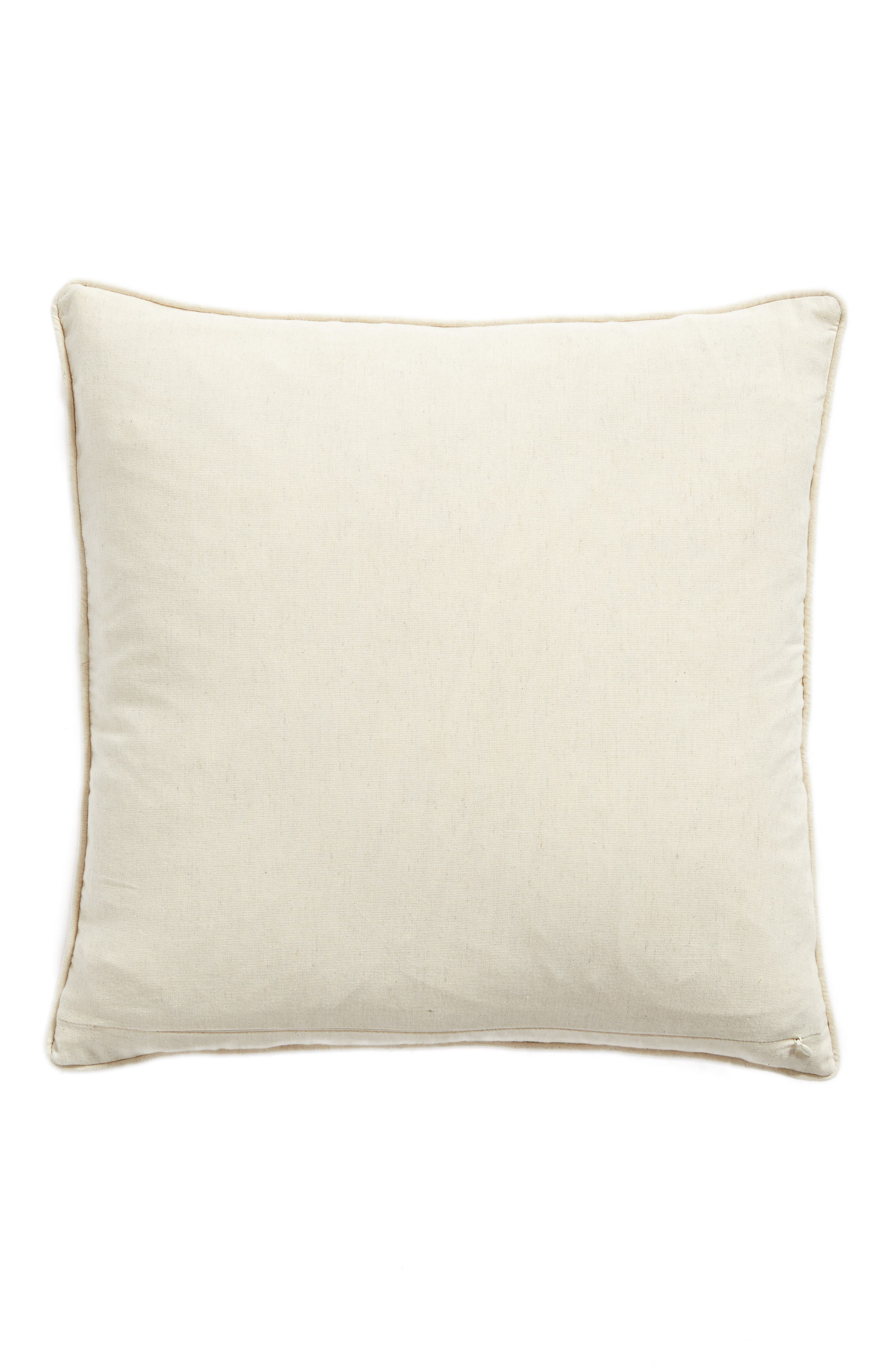 Velvet Cutout Accent Pillow,                             Alternate thumbnail 2, color,                             Blue Stellar Multi