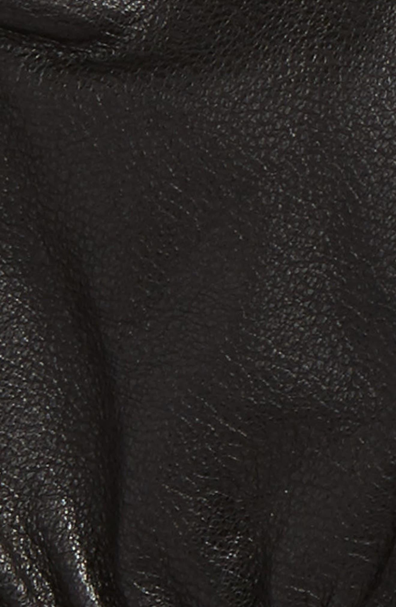 Barrow Leather Gloves,                             Alternate thumbnail 2, color,                             Black