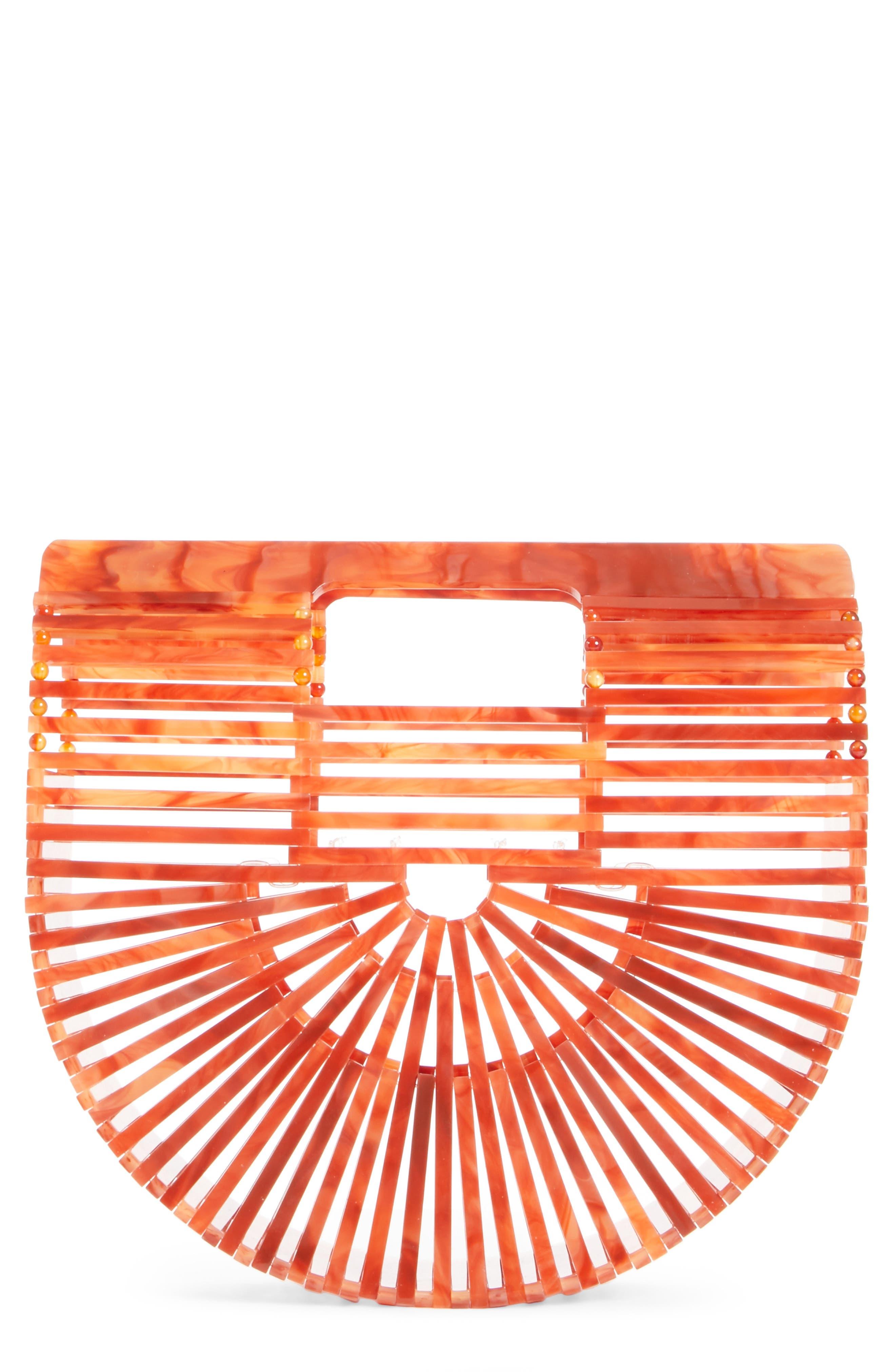 Mini Ark Handbag,                         Main,                         color, Agate
