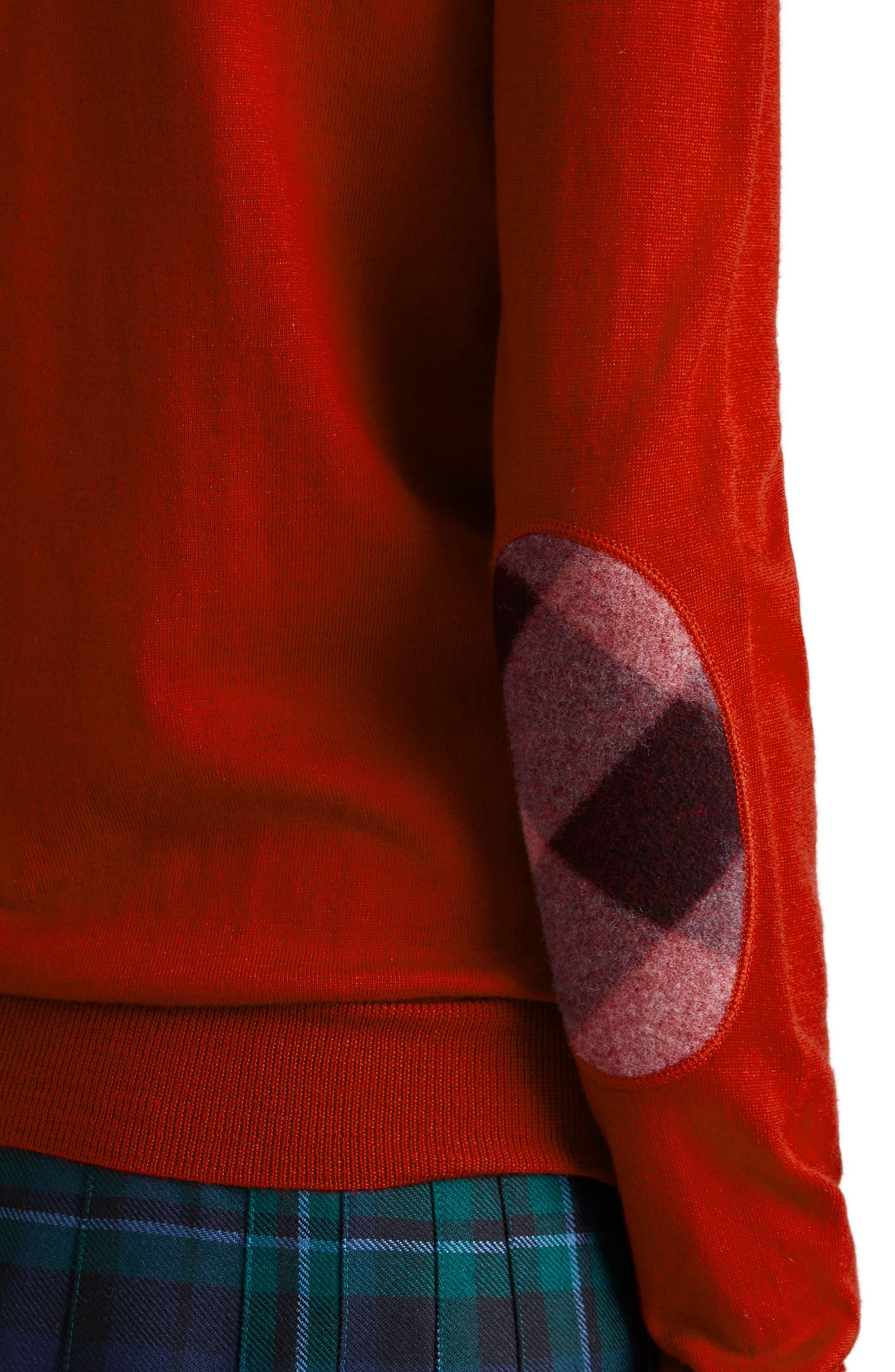 Alternate Image 4  - Burberry Viar Merino Wool Sweater