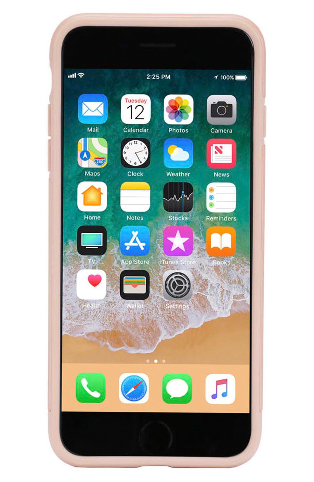 Dual Snap Case for iPhone 7 Plus/8 Plus,                             Alternate thumbnail 2, color,                             Rose Gold