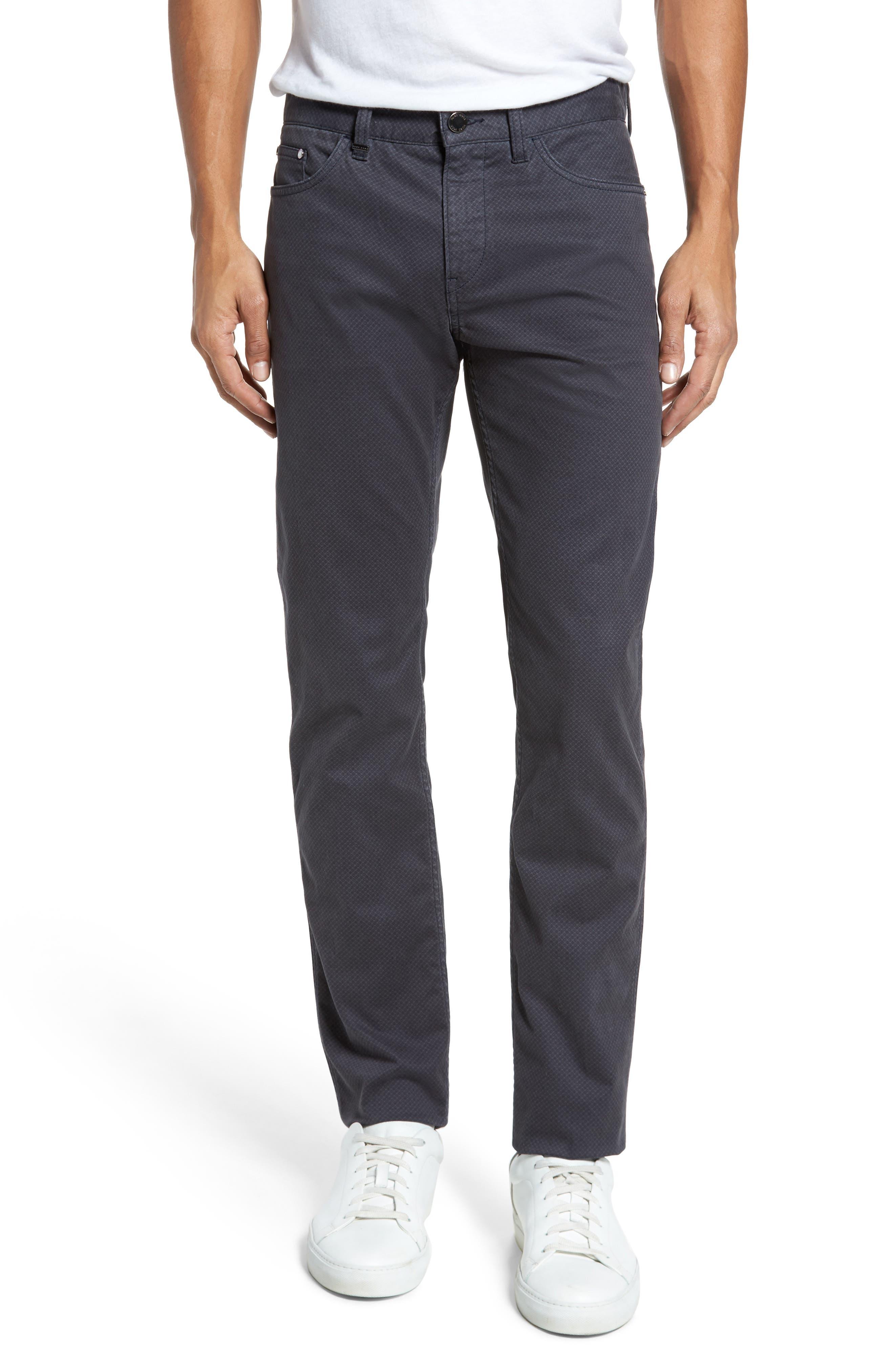 Delaware Slim Fit Pants,                         Main,                         color, Grey