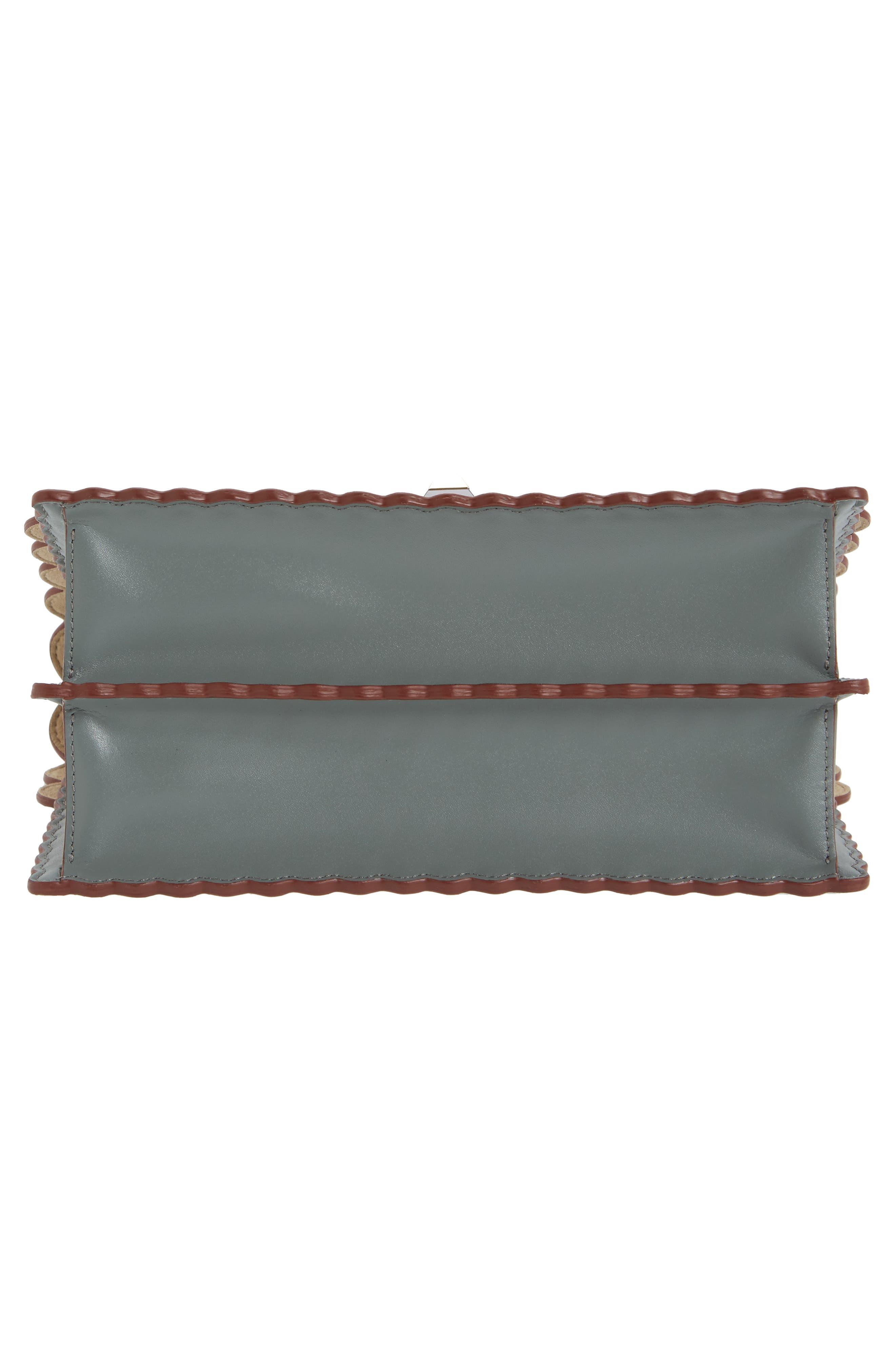 Alternate Image 5  - Fendi Kan I Scallop Leather Shoulder Bag