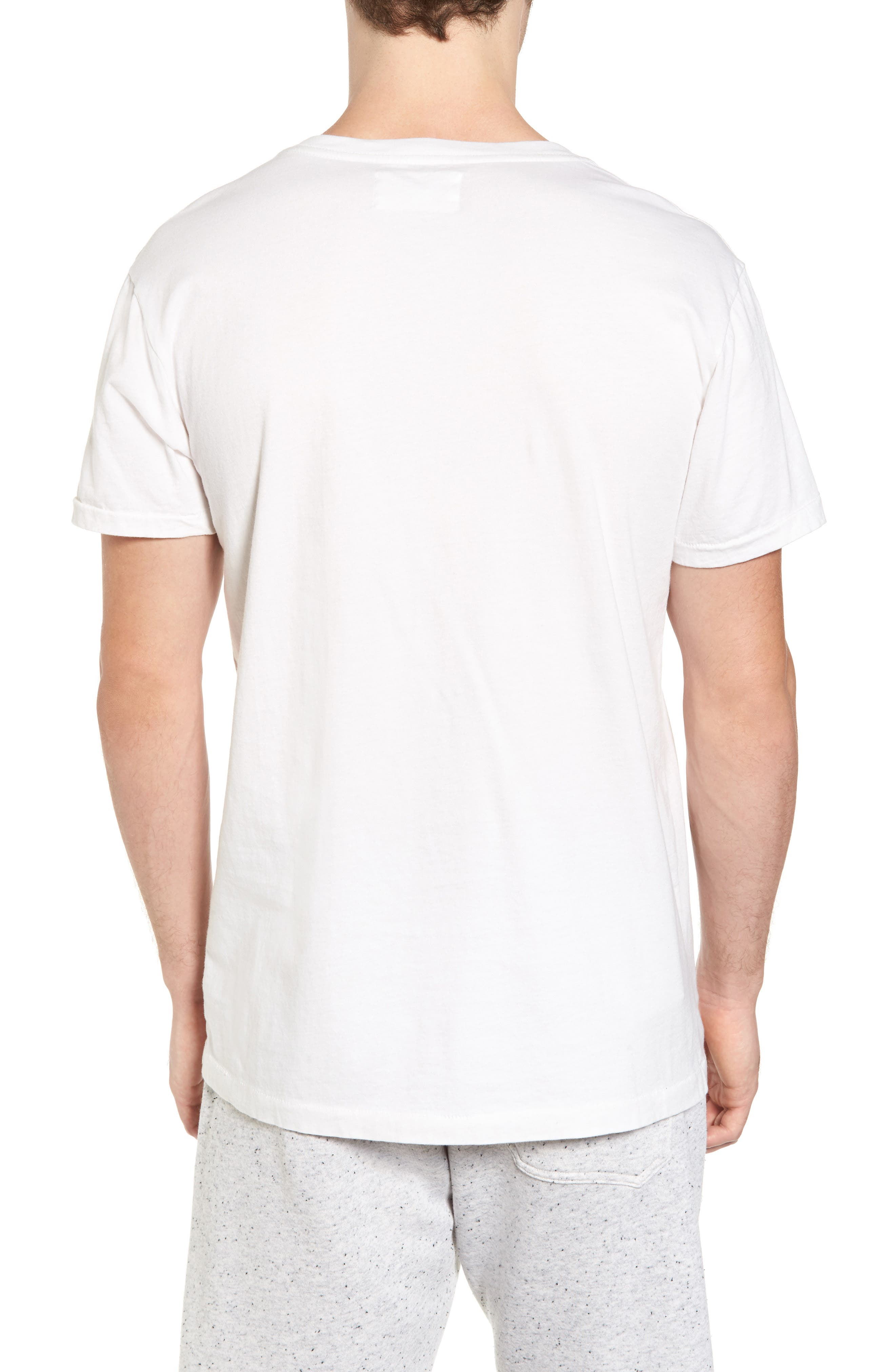 Vista Del Mar T-Shirt,                             Alternate thumbnail 2, color,                             D White