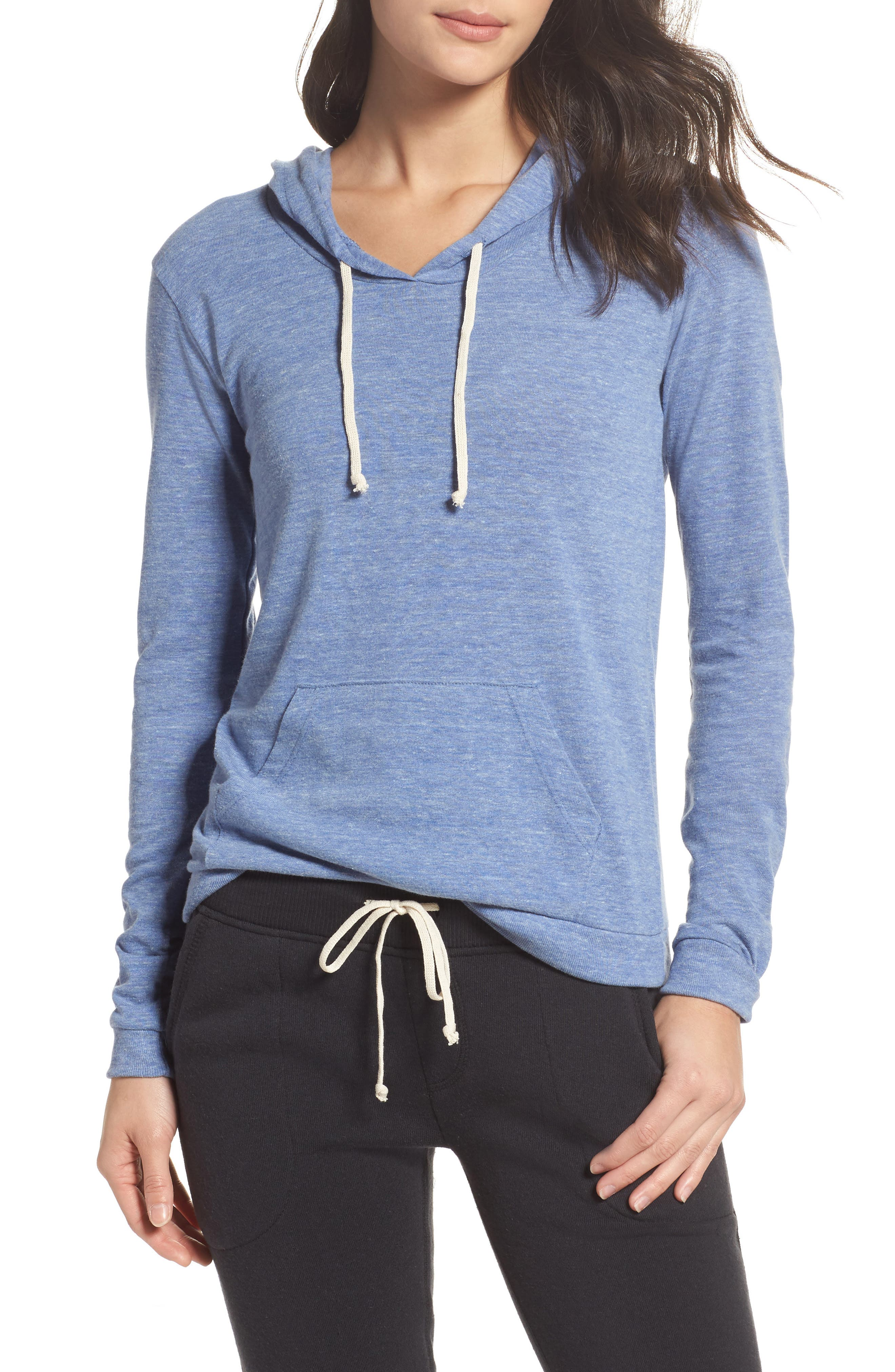 Classic Pullover Hoodie,                             Main thumbnail 1, color,                             Eco Pacific Blue