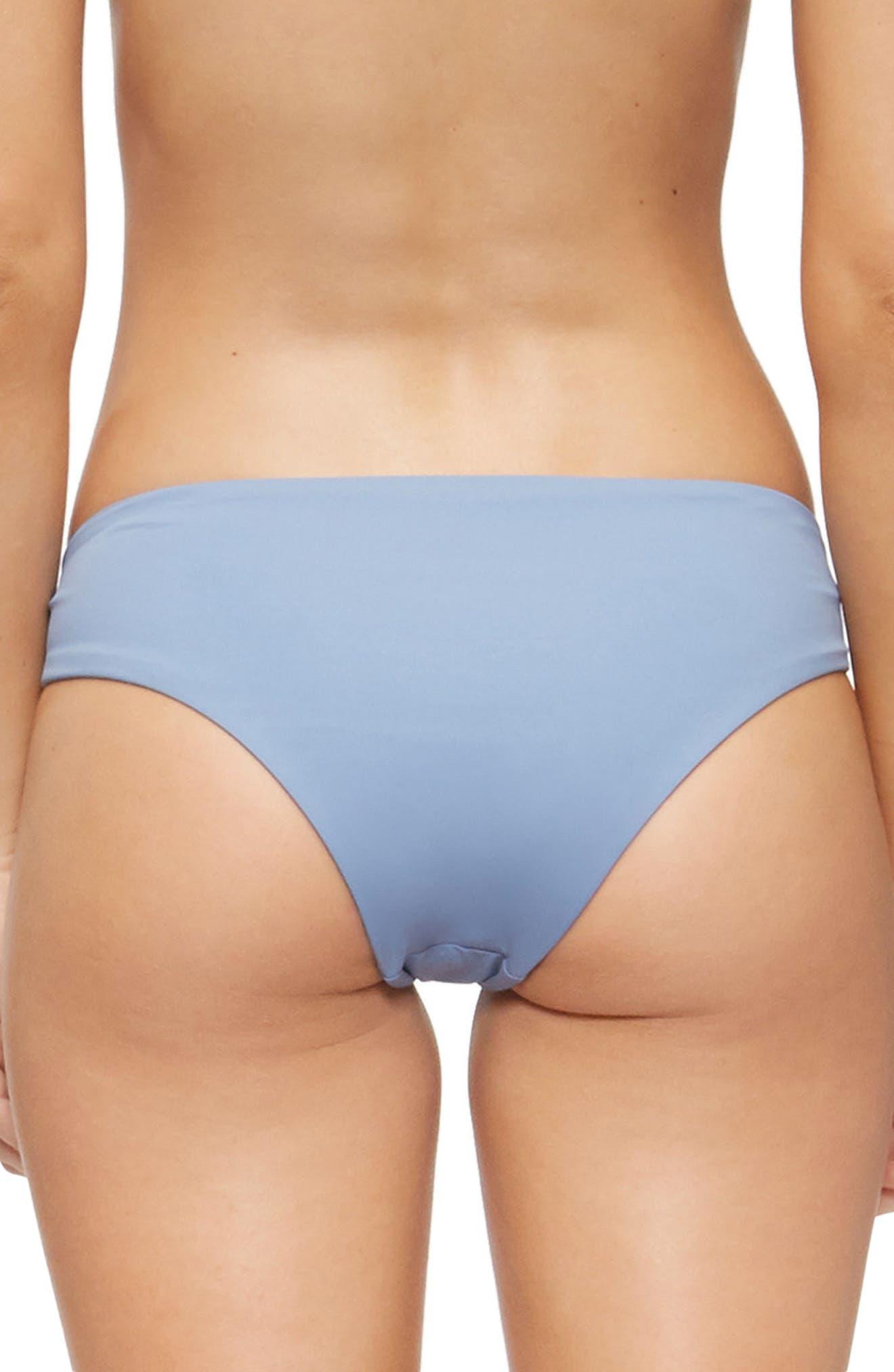 Bella Bikini Bottoms,                             Alternate thumbnail 2, color,                             Infinity Blue