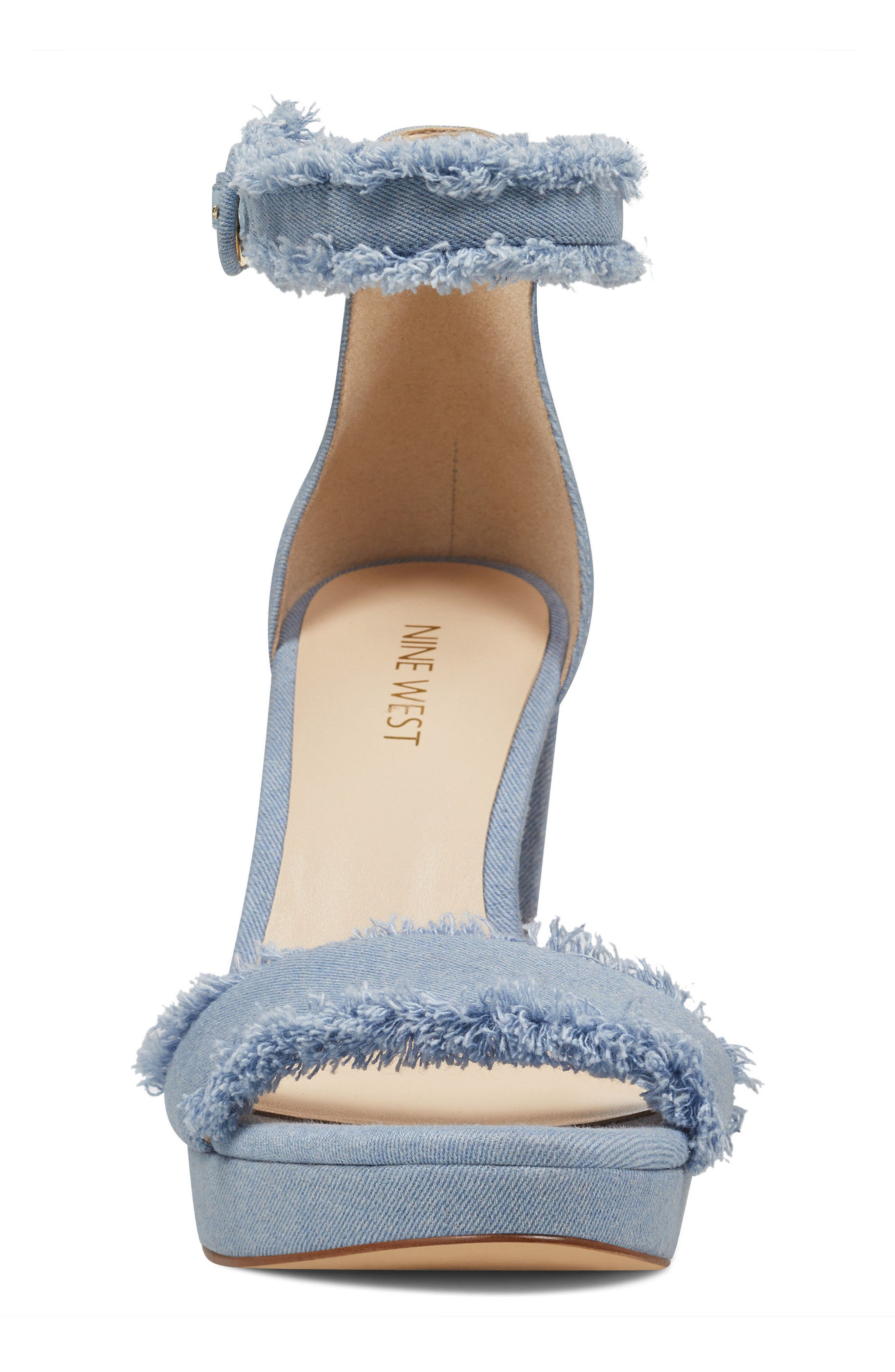 Alternate Image 4  - Nine West Daranita Ankle Strap Sandal (Women)