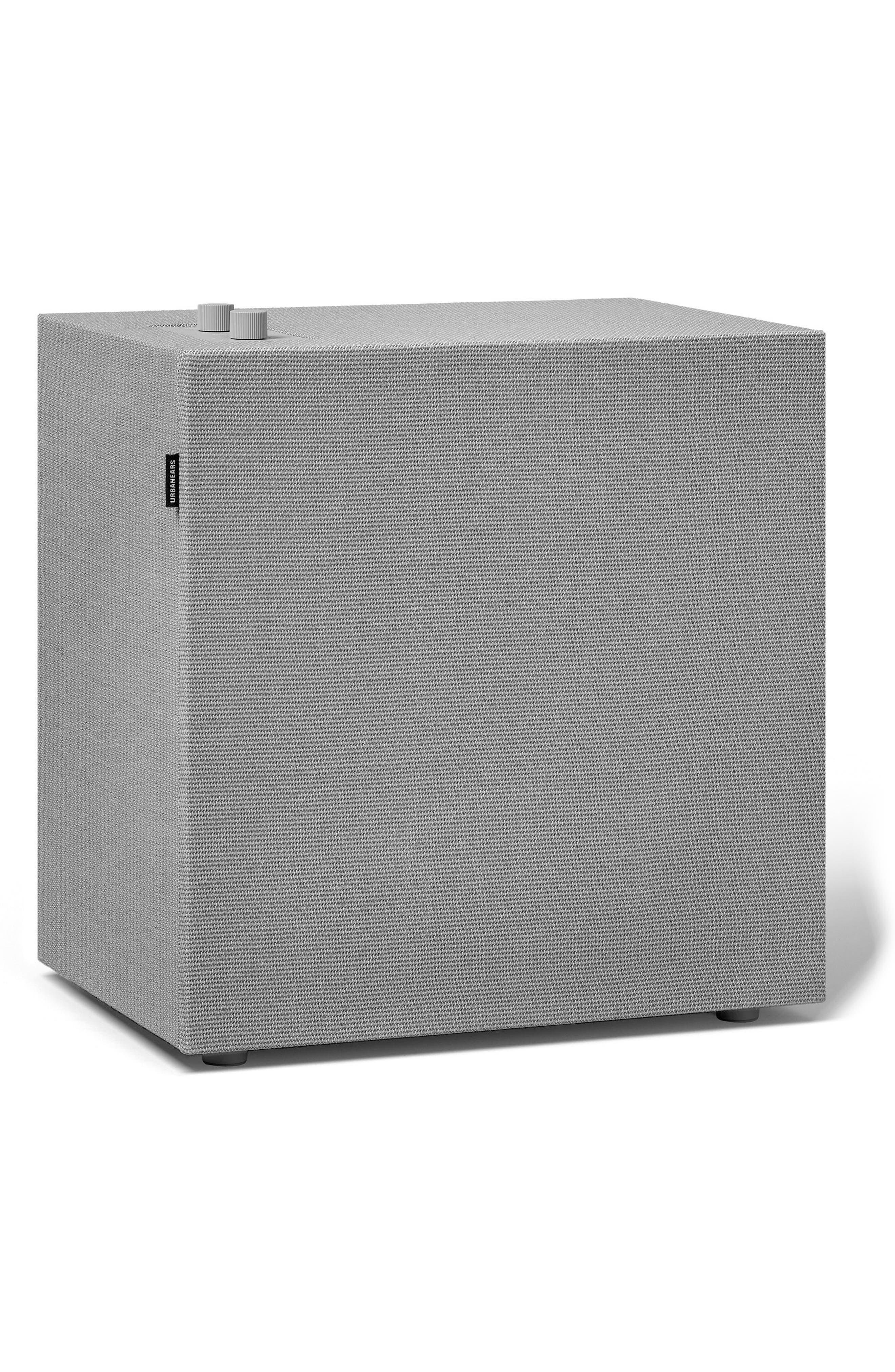 Baggen Bluetooth<sup>®</sup> Speaker,                             Main thumbnail 1, color,                             Concrete Grey