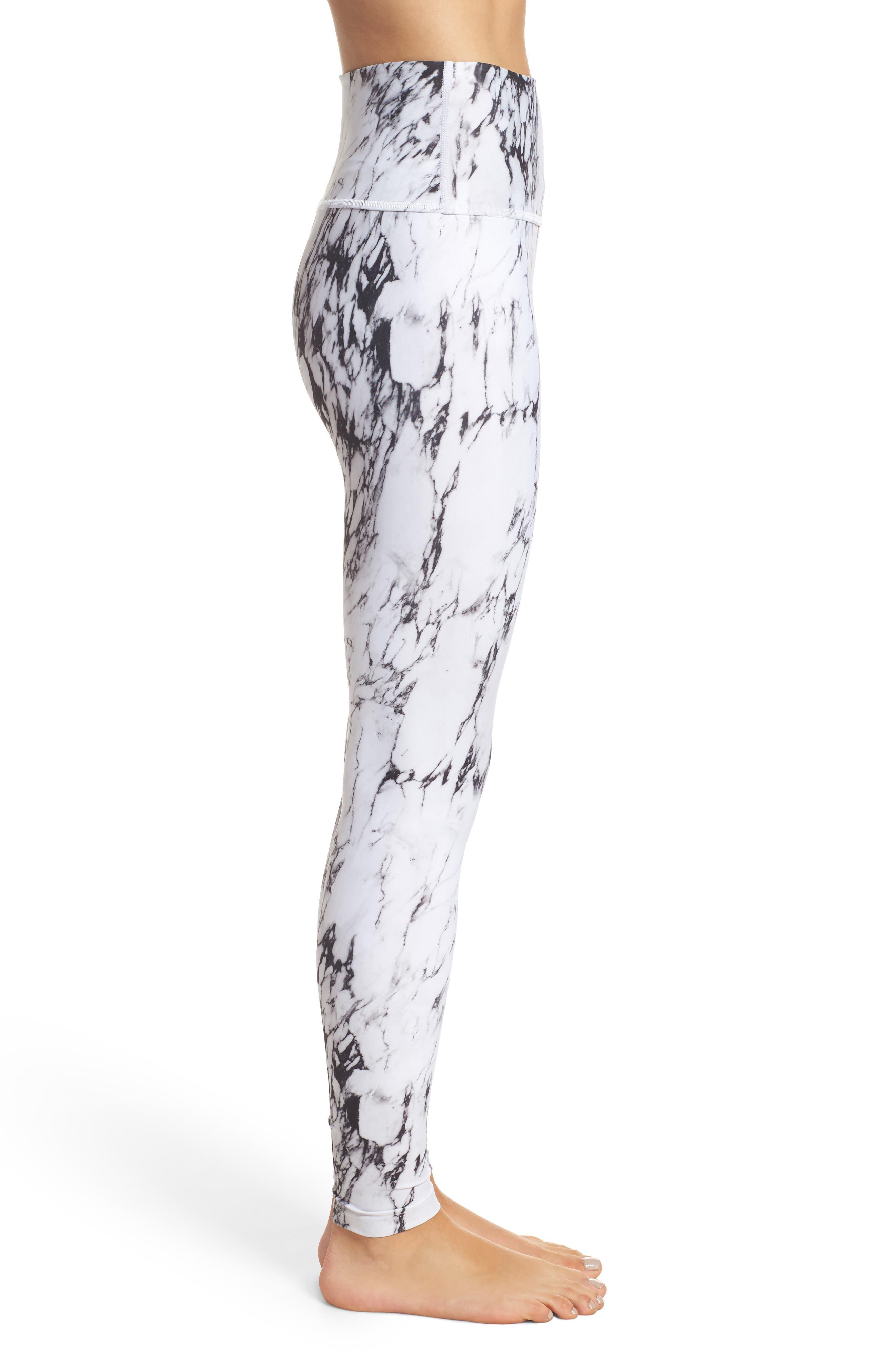 Alternate Image 3  - Beyond Yoga High Waist Print Leggings