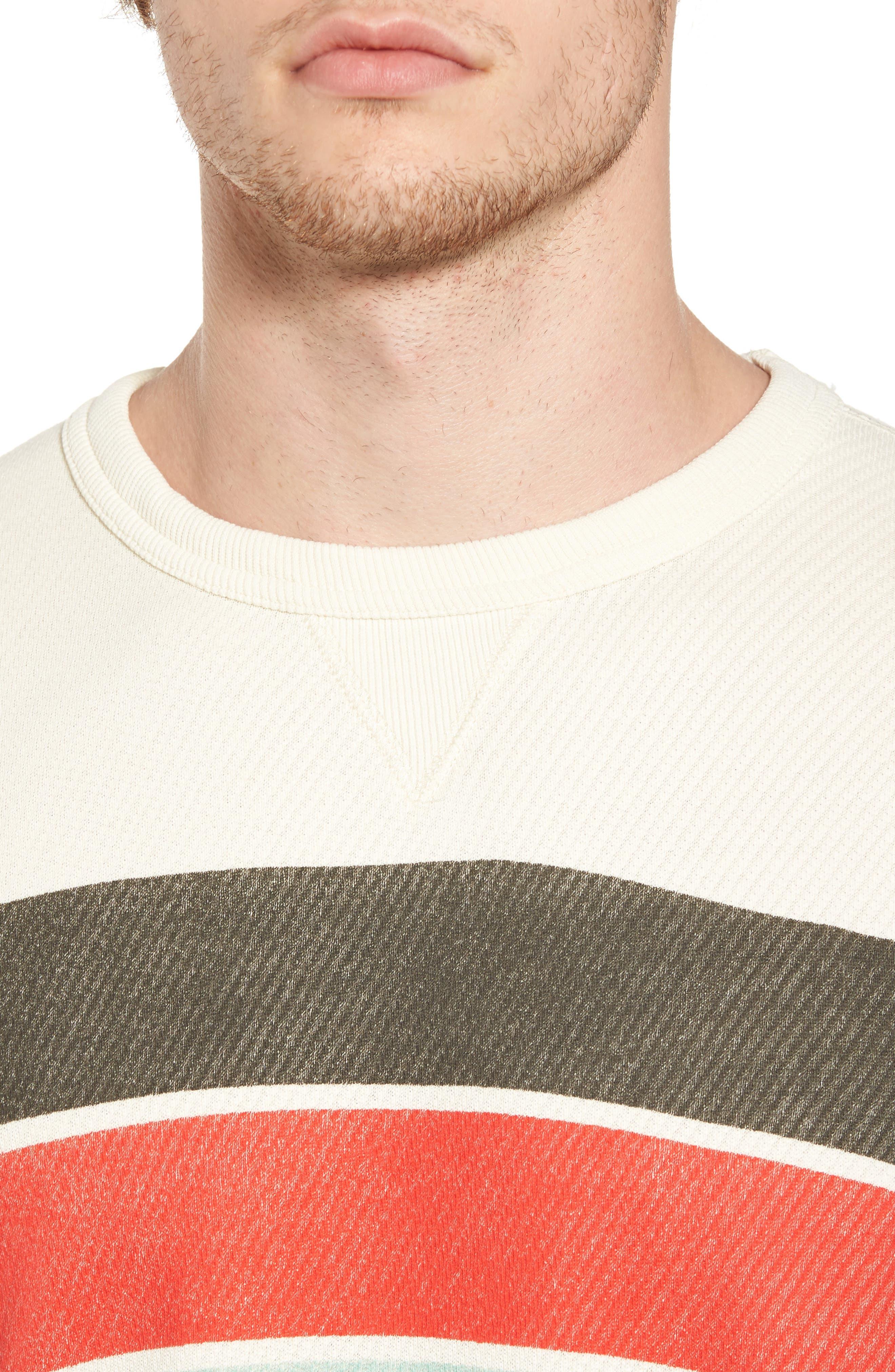 Graphic Sweatshirt,                             Alternate thumbnail 4, color,                             Ecru