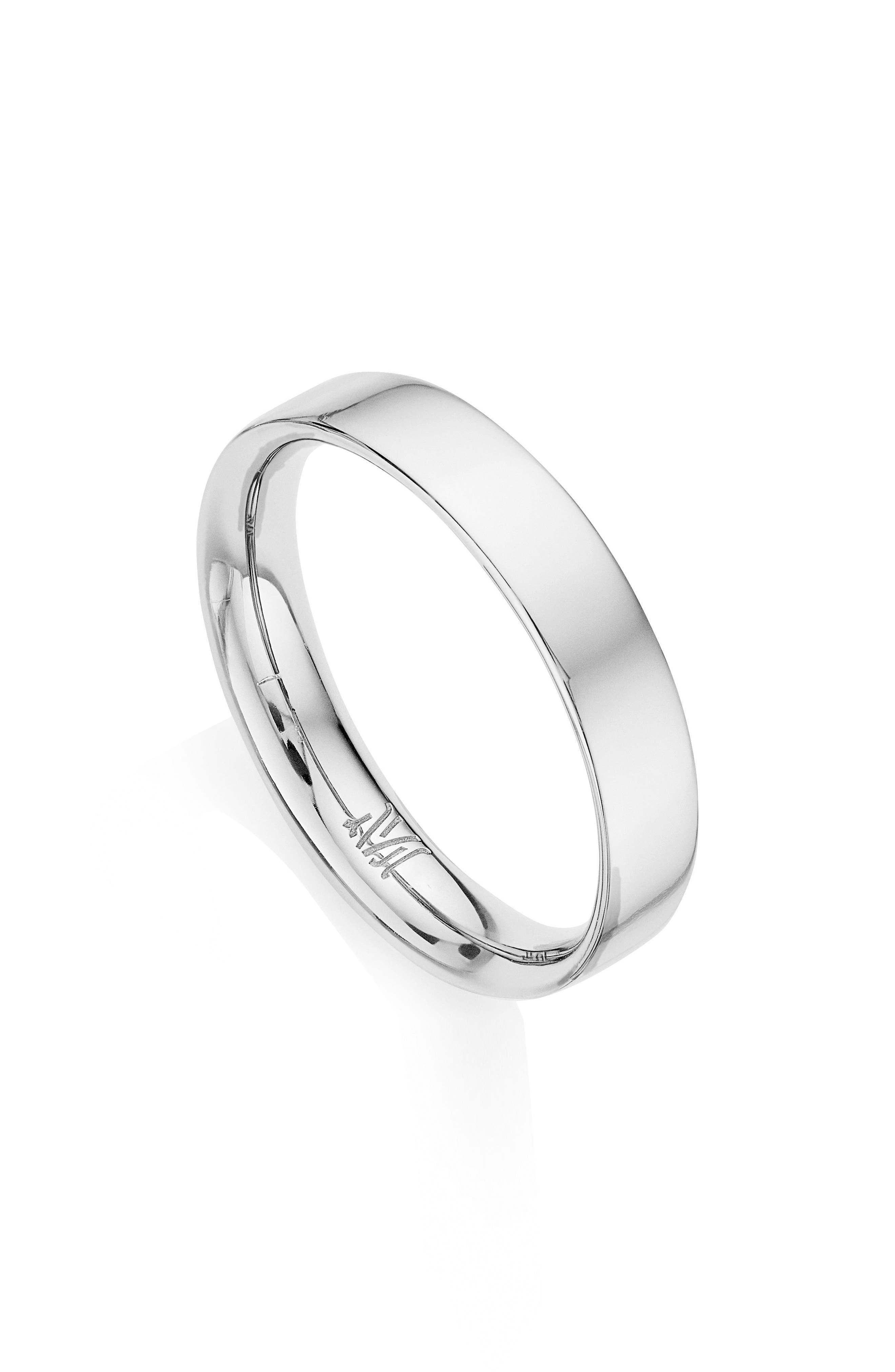 Fiji Band Ring,                         Main,                         color, Silver