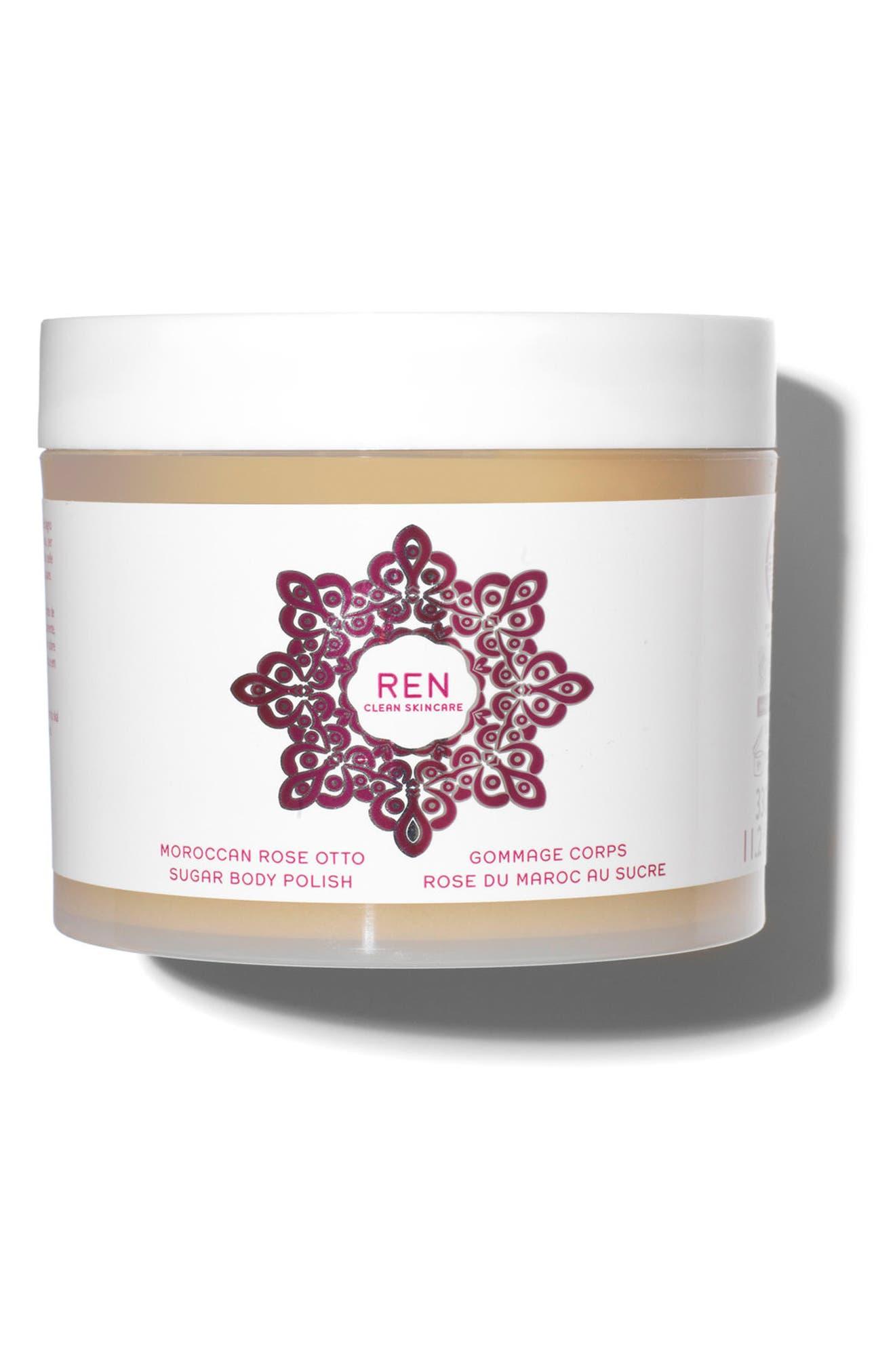 SPACE.NK.apothecary REN Moroccan Rose Otto Sugar Body Polish,                         Main,                         color, No Color