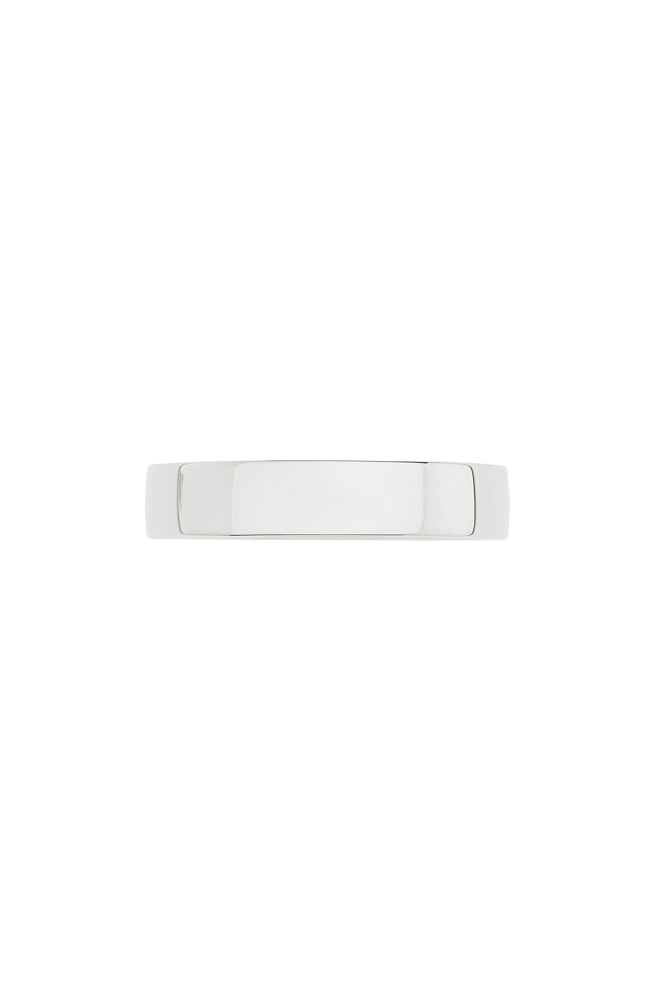 Fiji Band Ring,                             Alternate thumbnail 4, color,                             Silver