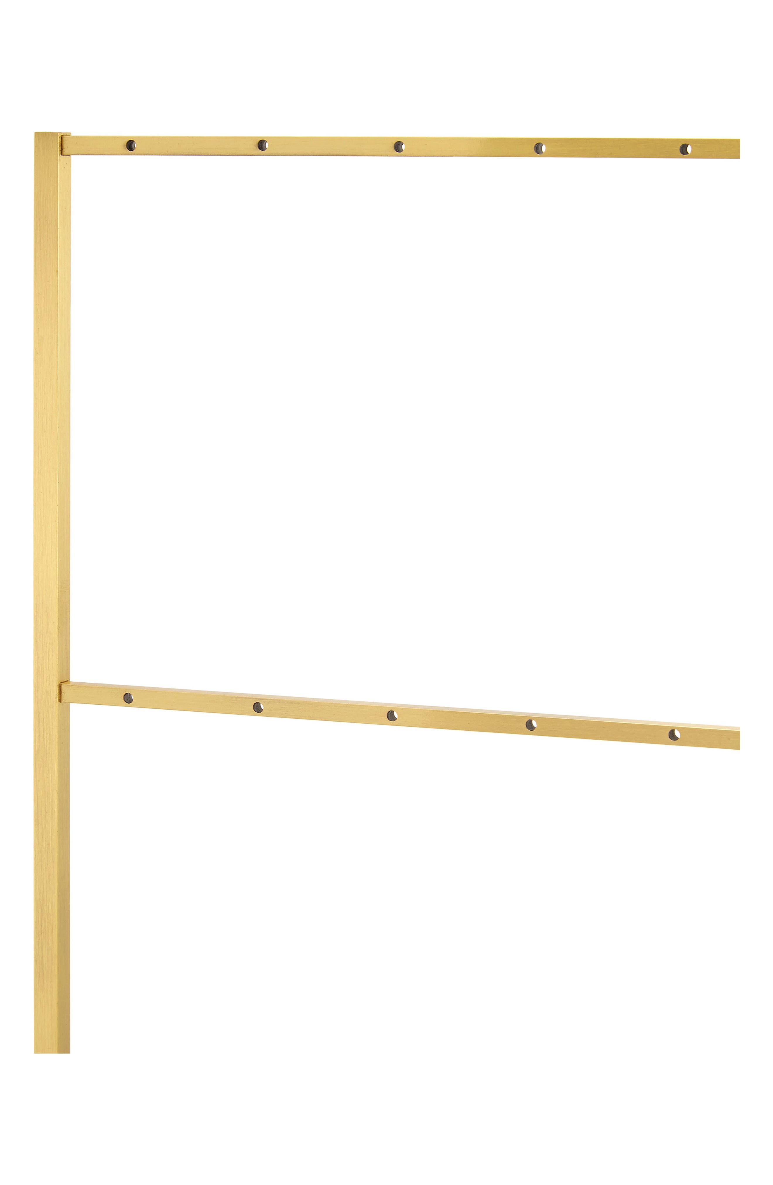 Earring Ladder,                             Alternate thumbnail 3, color,                             Antique Brass