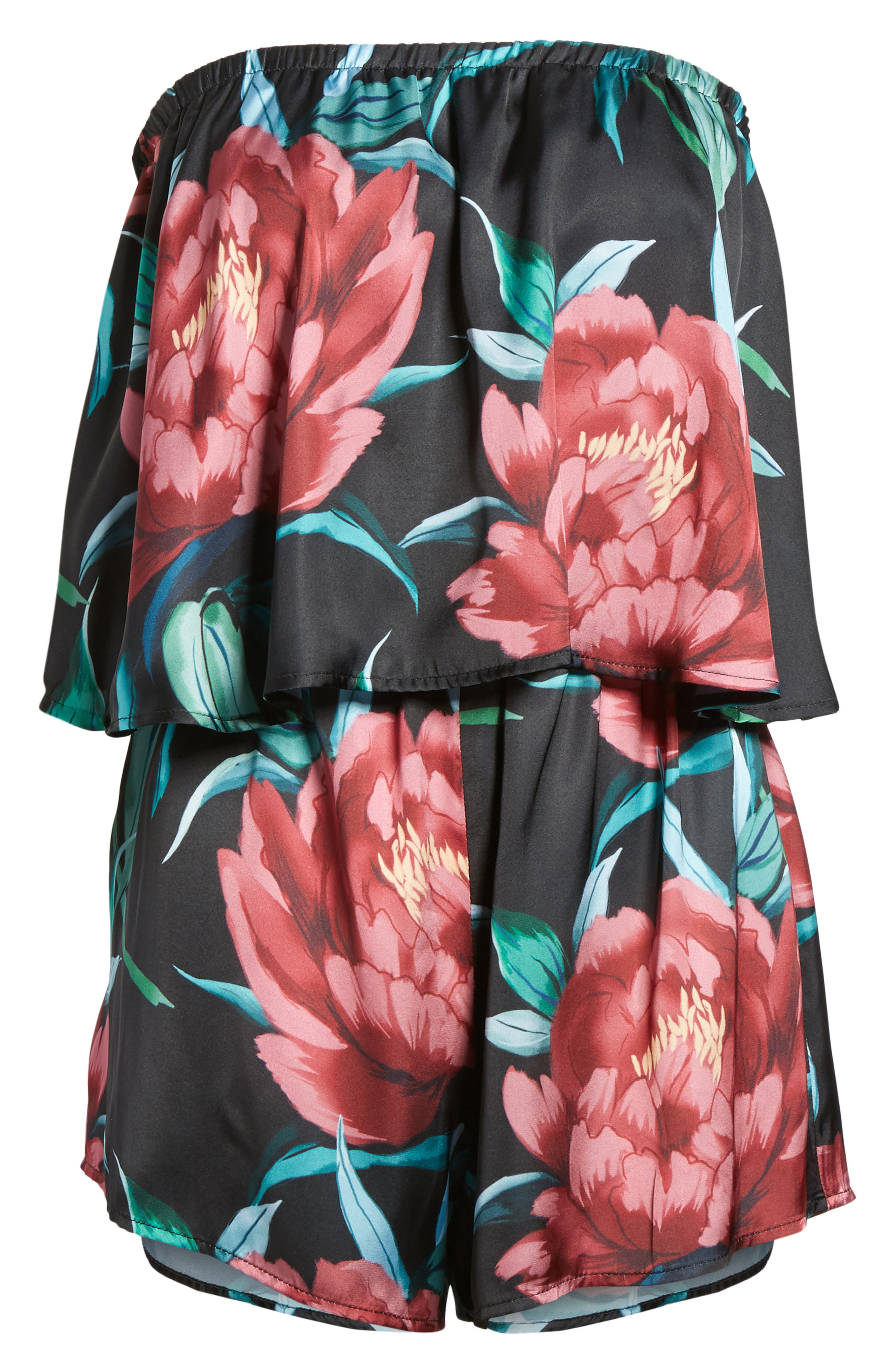 Thelma Romper,                             Alternate thumbnail 6, color,                             Ruby Bloom