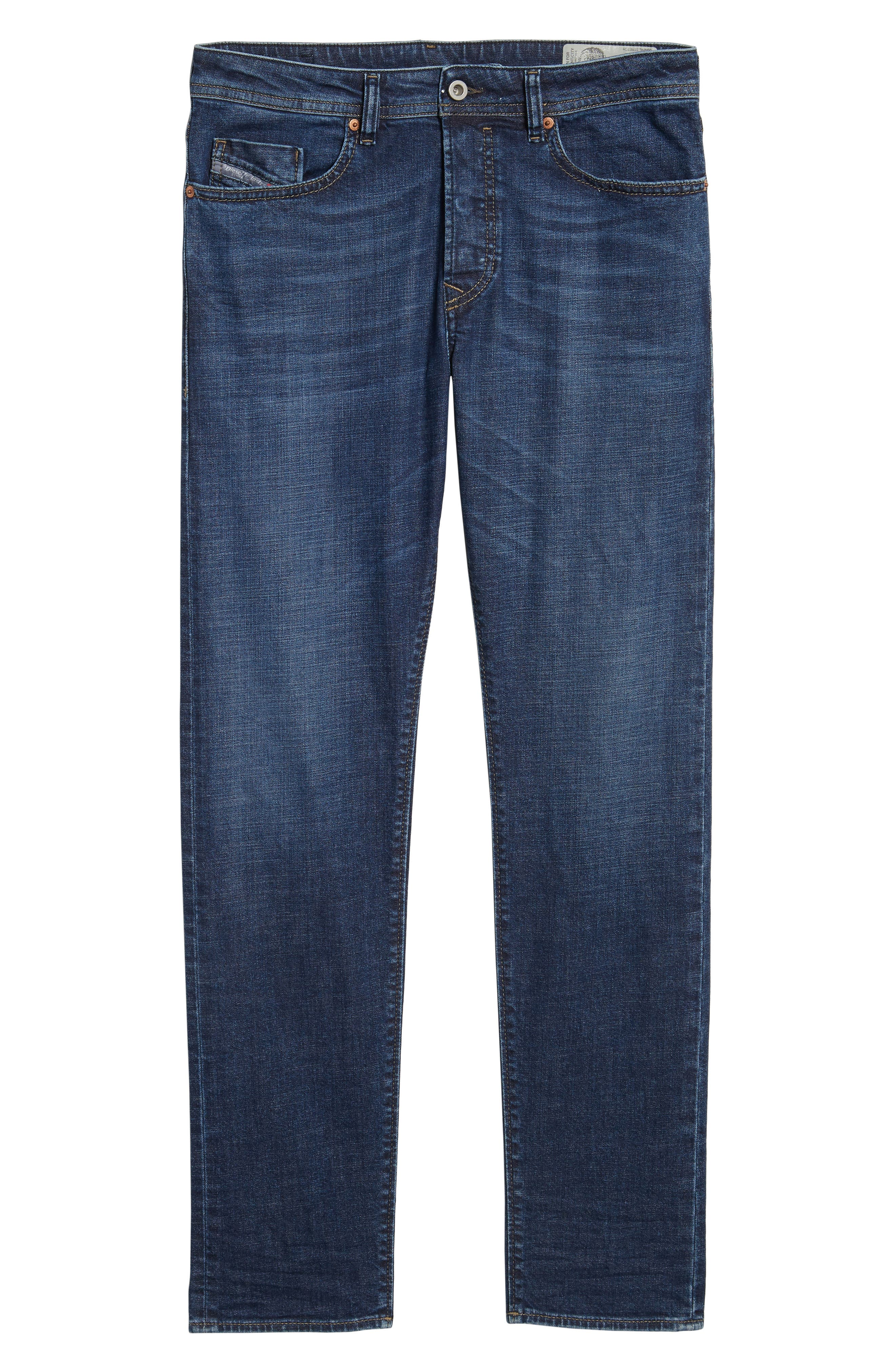 Alternate Image 6  - DIESEL® Buster Slim Straight Fit Jeans