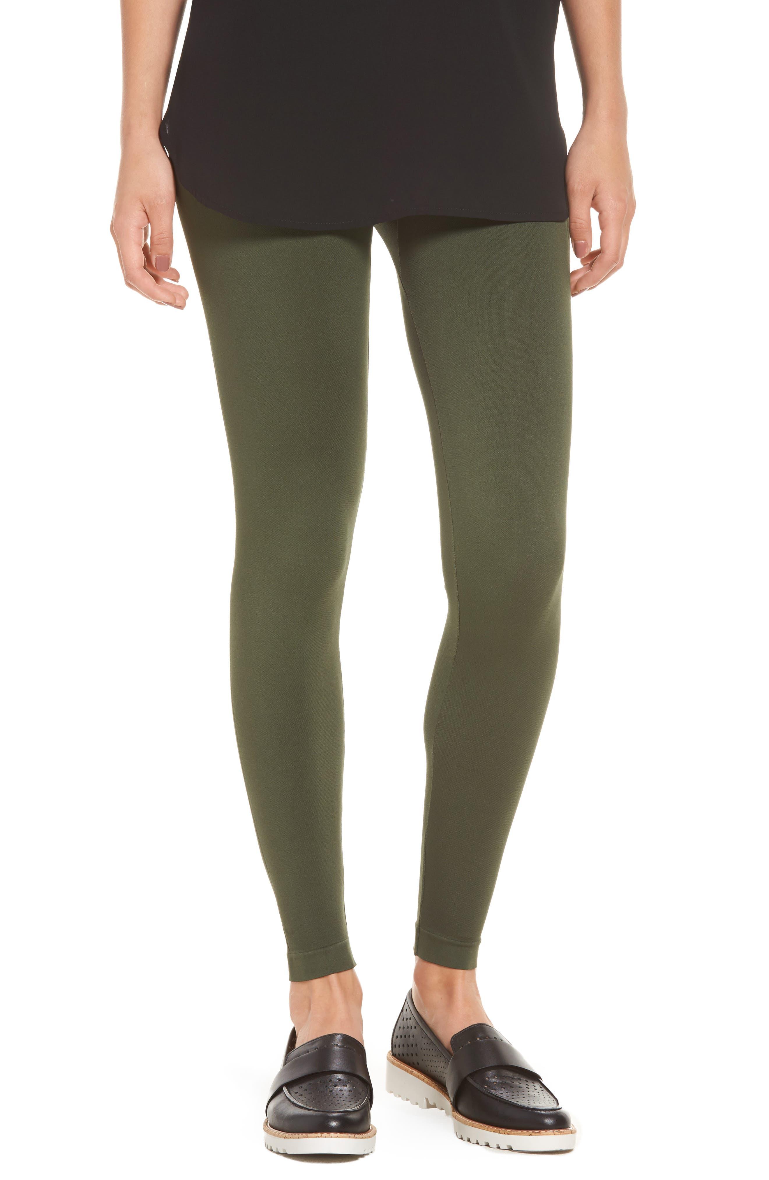 Seamless Leggings,                         Main,                         color, Olive