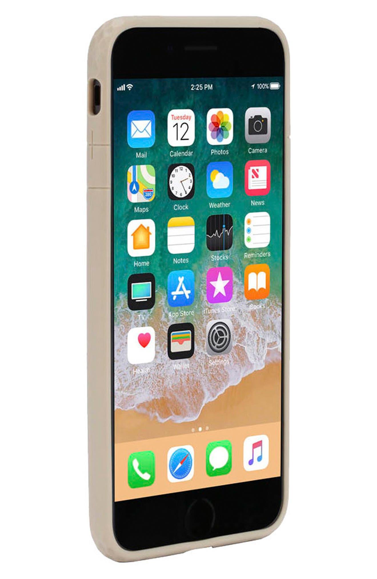 Frame iPhone 7 Plus/8 Plus Case,                             Alternate thumbnail 3, color,                             Gold