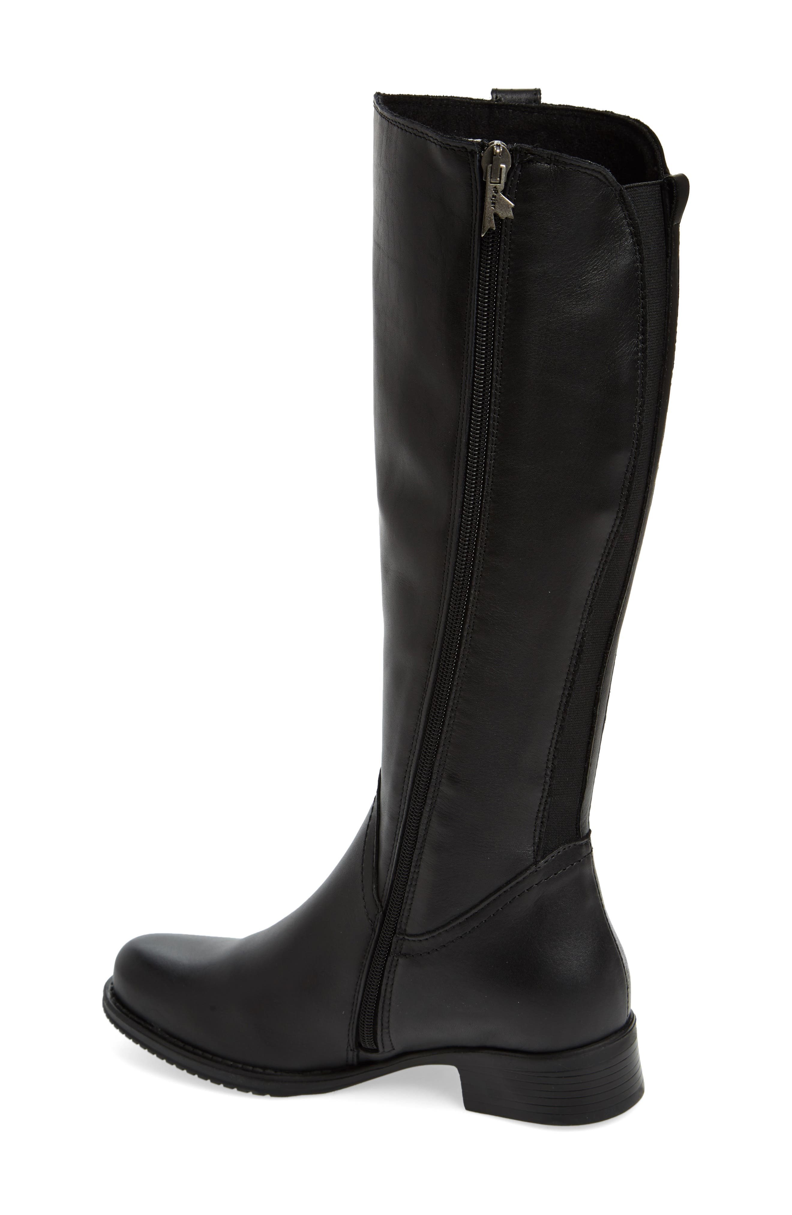 Dogueno Waterproof Boot,                             Alternate thumbnail 2, color,                             Black Leather
