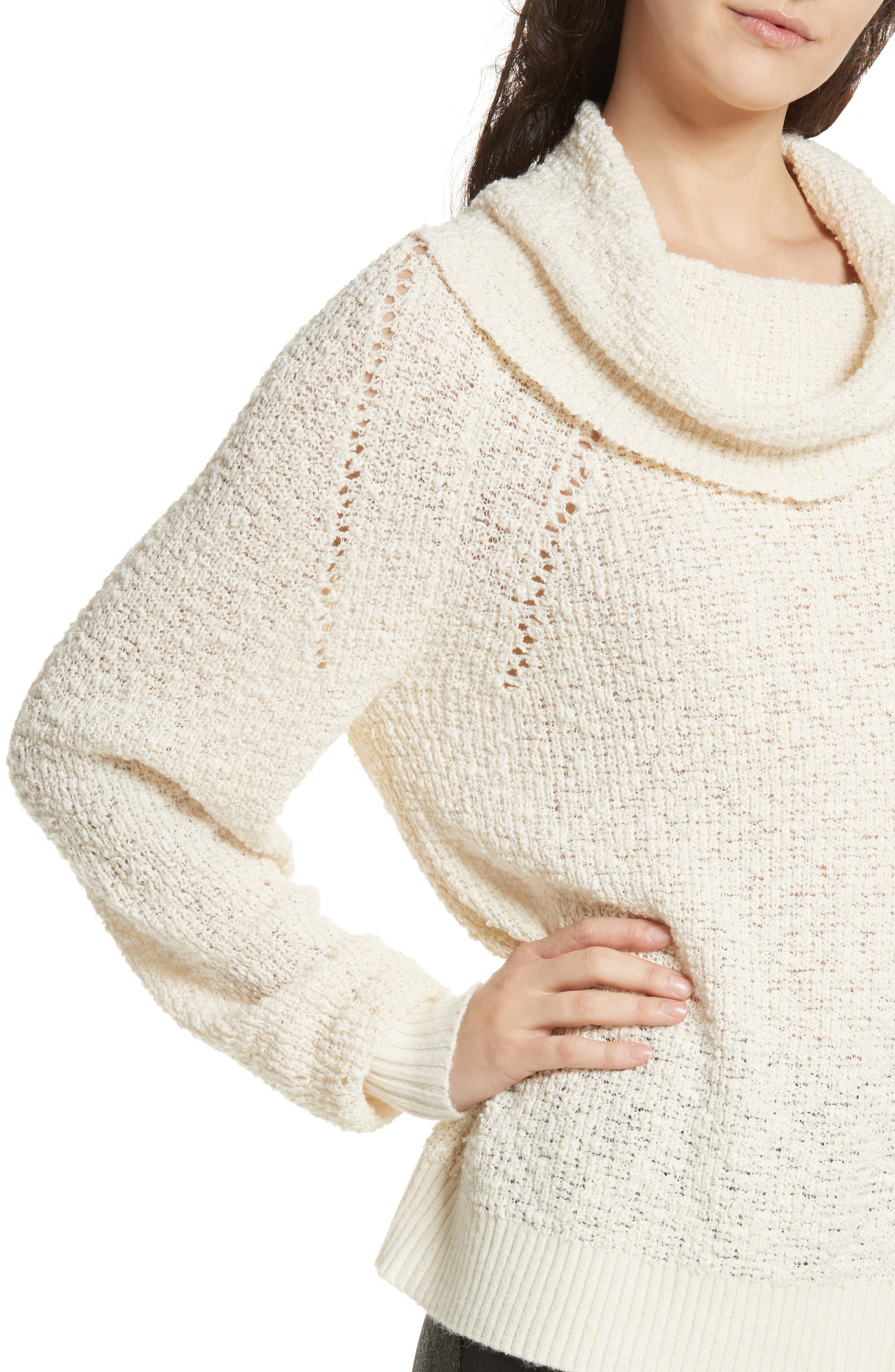 Alternate Image 4  - Free People By Your Side Sweater