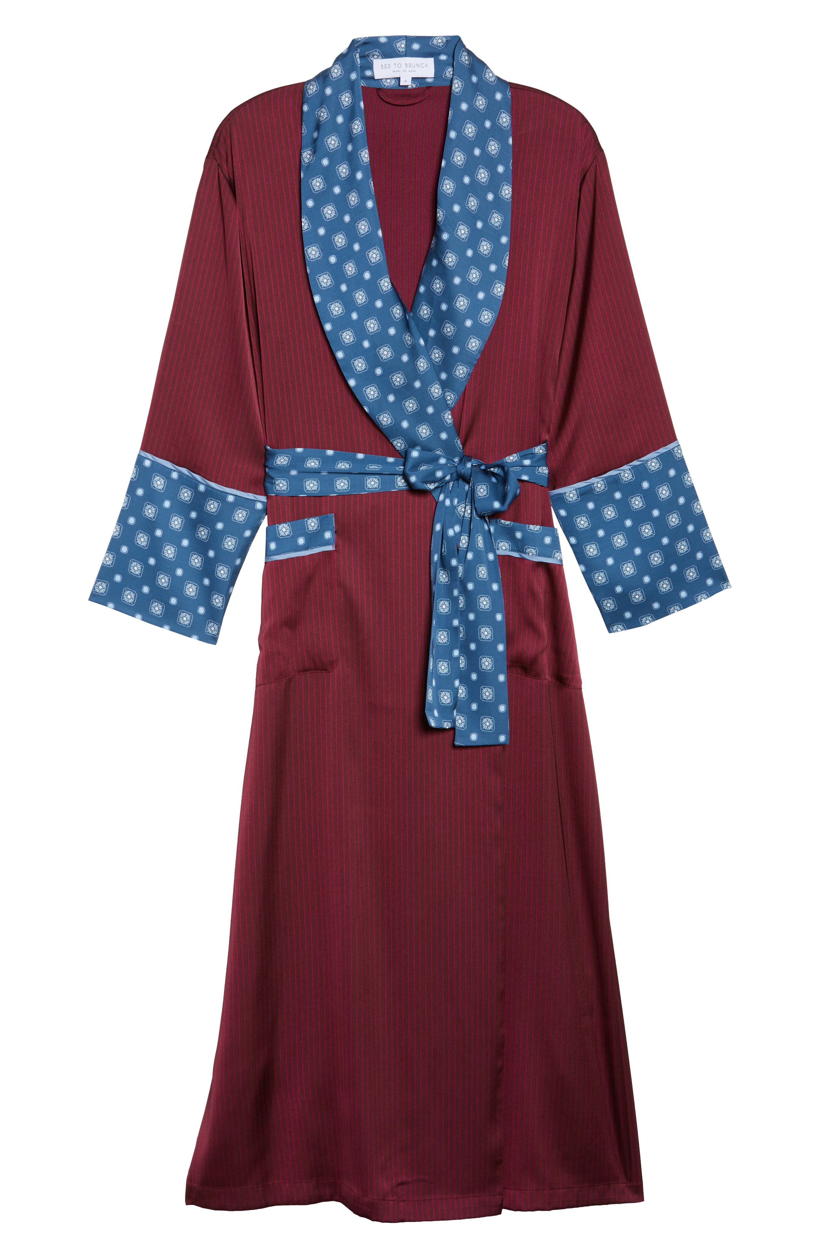 Alternate Image 6  - Bed to Brunch Mixed Print Robe