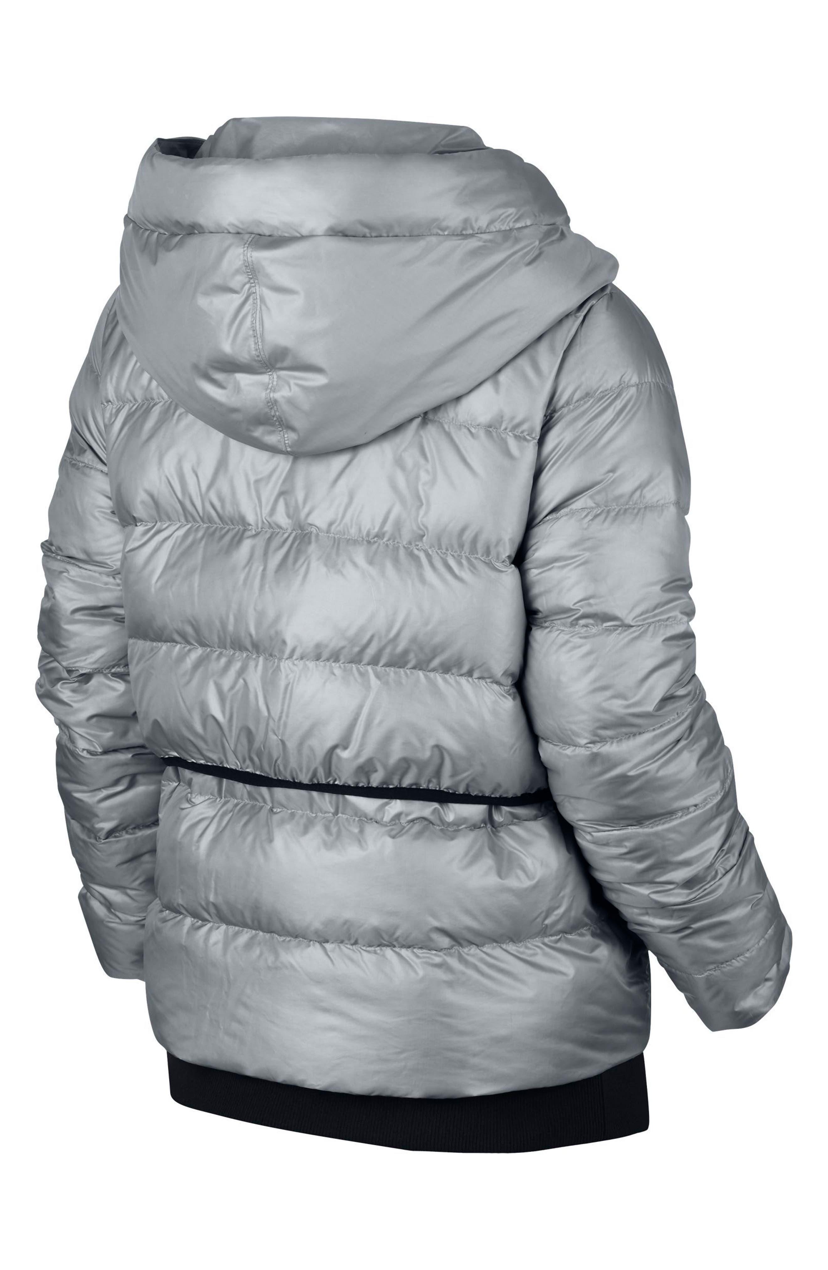 Alternate Image 9  - Nike Sportswear Women's Hooded Down Jacket