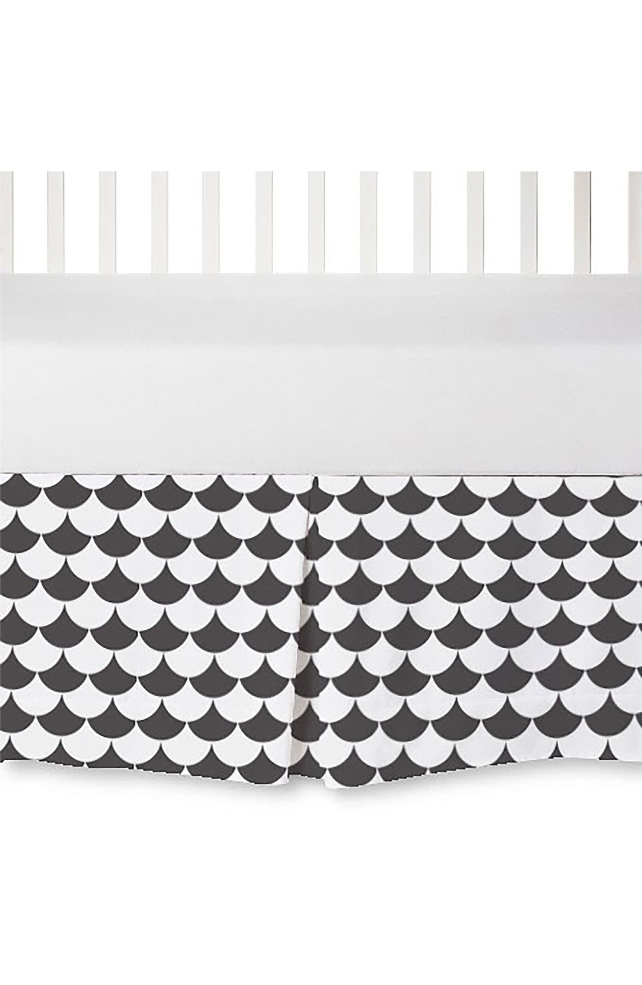 Main Image - Living Textiles Crib Bed Skirt
