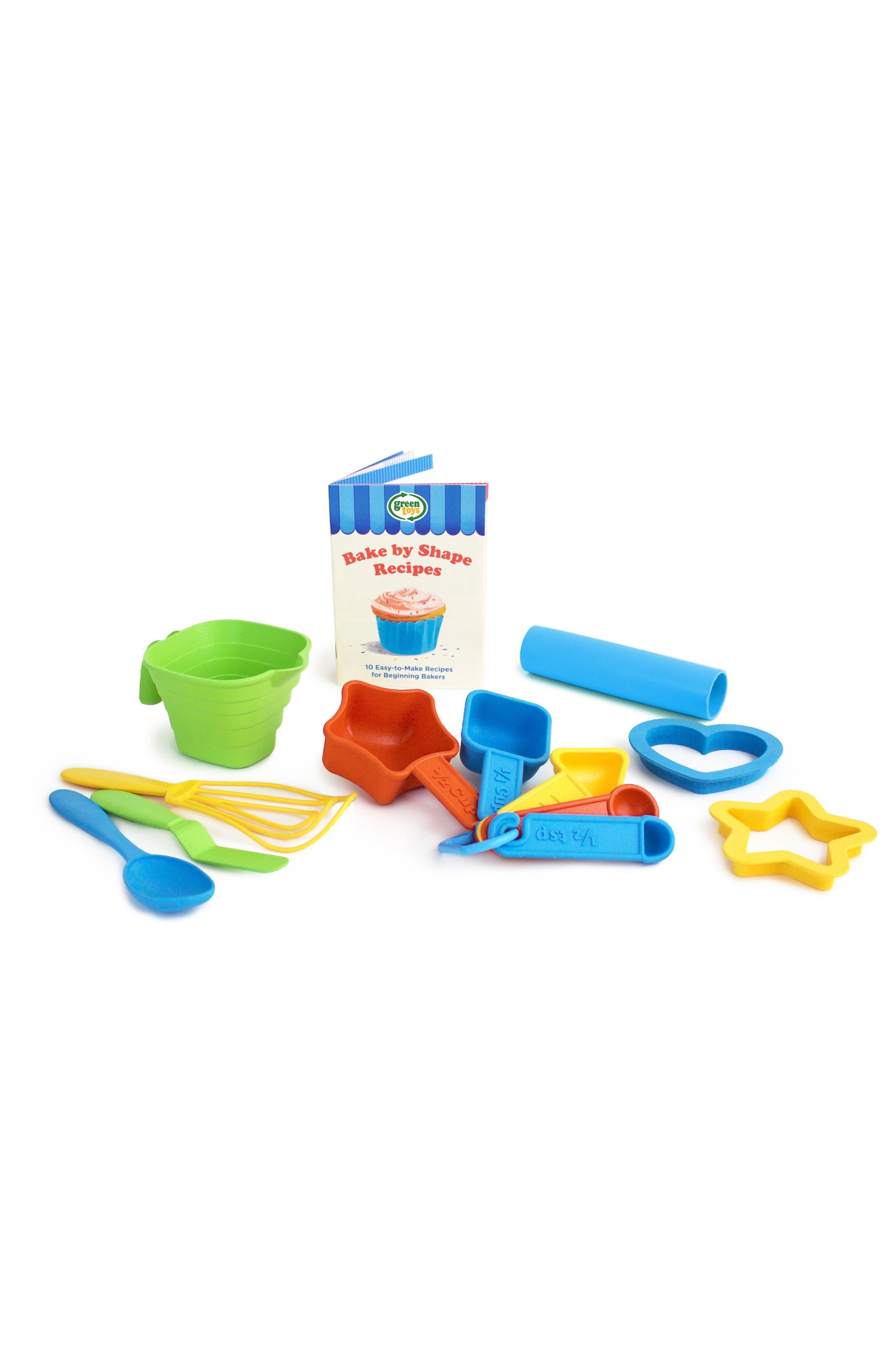 Alternate Image 2  - Green Toys 12-Piece Bake by Shape Baking Set