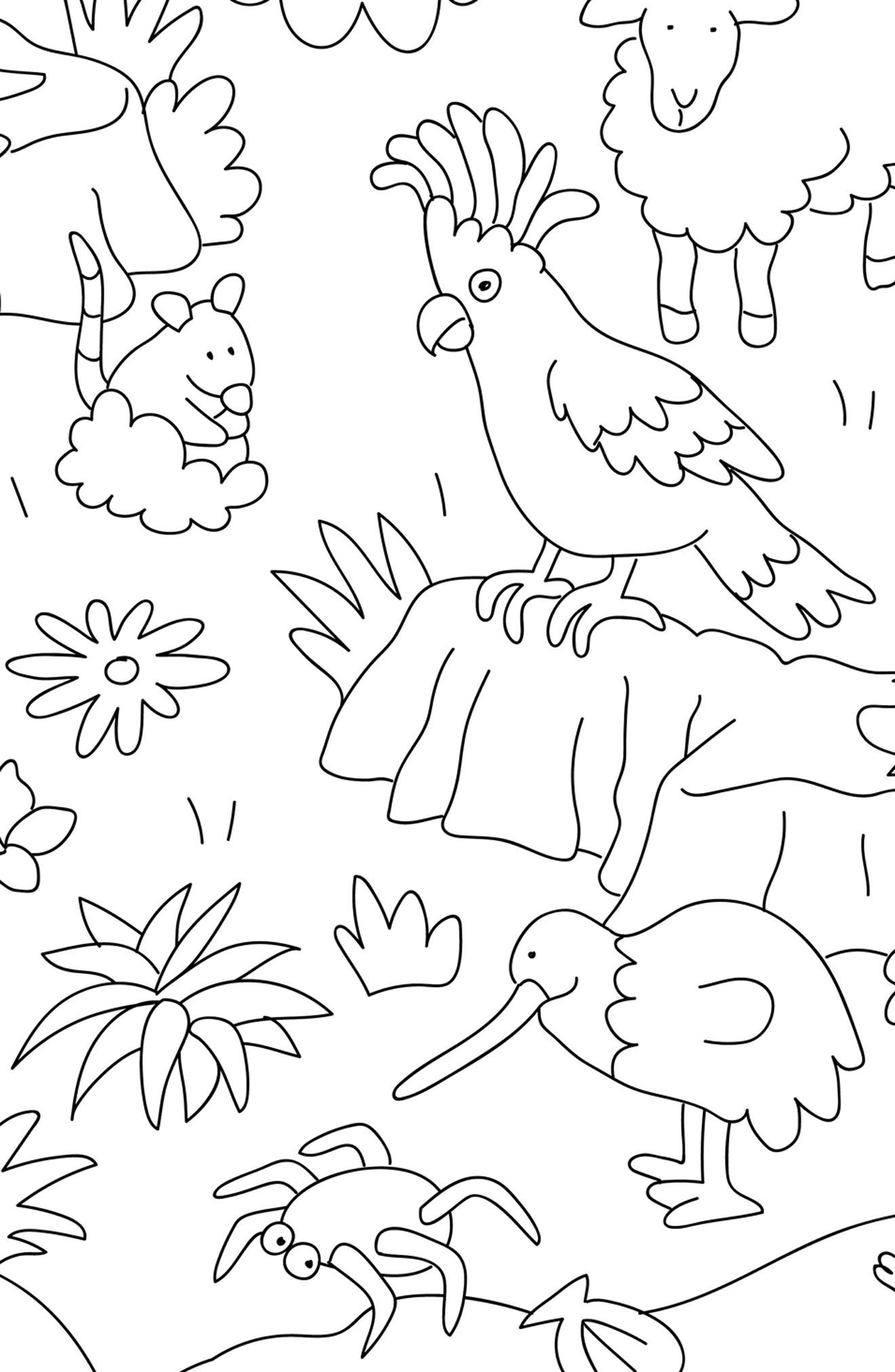 Set of 24 Animals Coloring Placemats,                             Alternate thumbnail 3, color,                             Animal