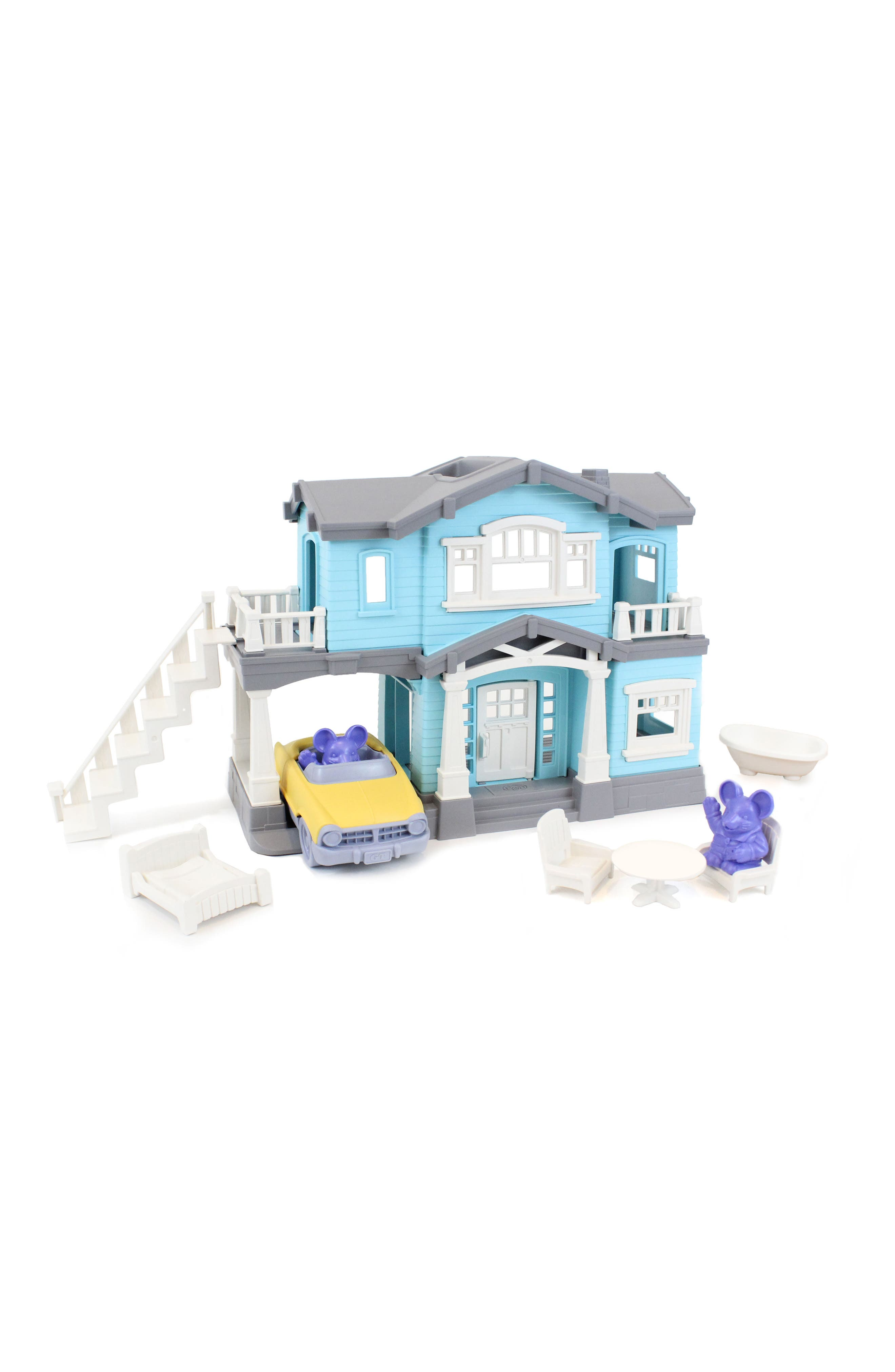Alternate Image 7  - Green Toys 10-Piece House Play Set